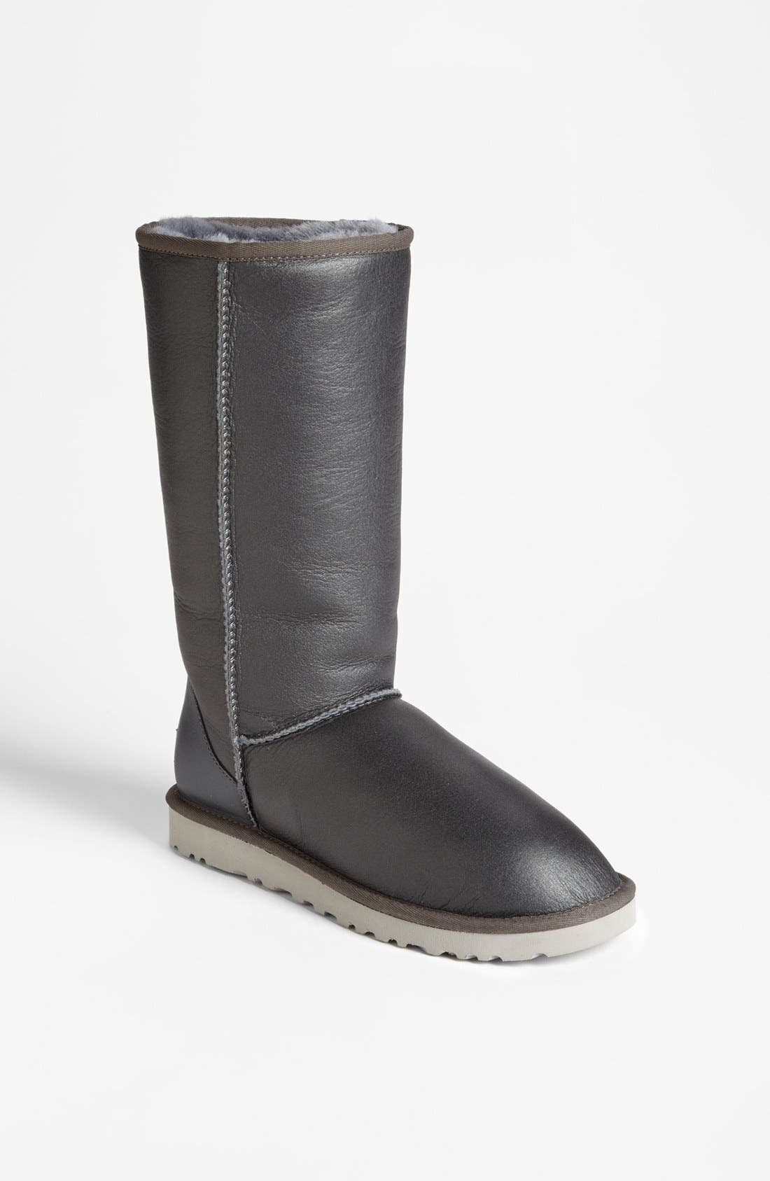 Alternate Image 1 Selected - UGG® Australia 'Classic Tall Metallic' Boot (Women)