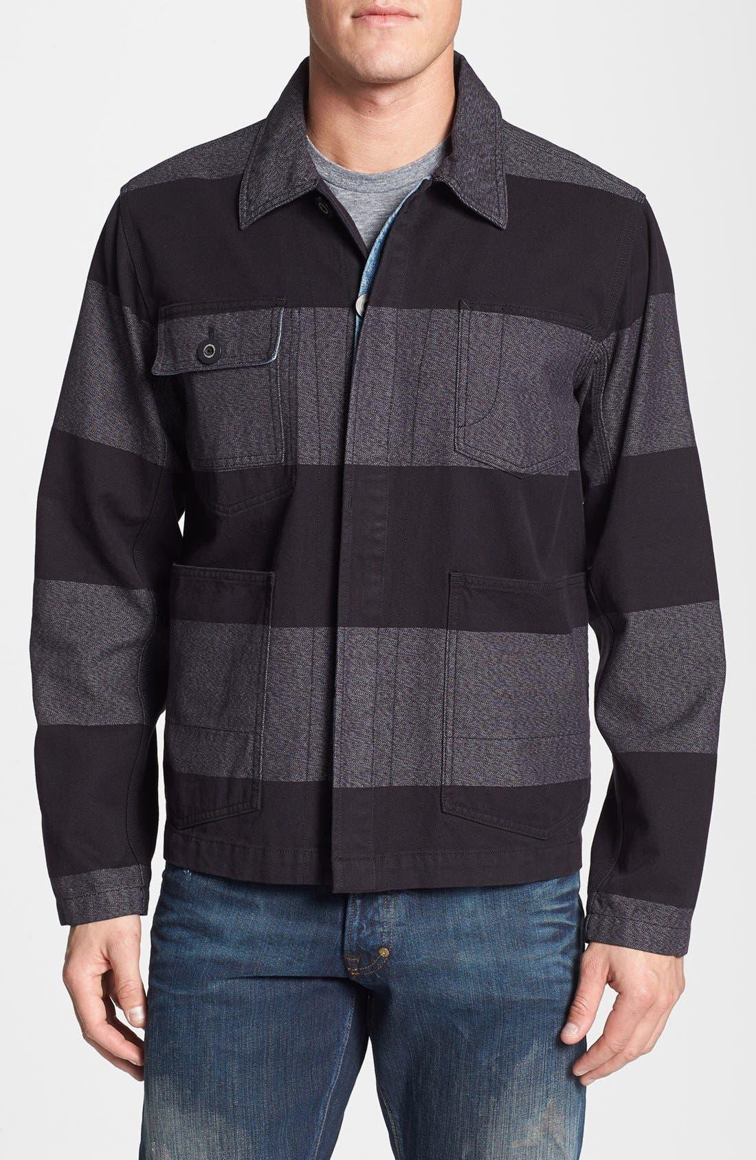 Main Image - PRPS Block Stripe Railroad Chore Jacket