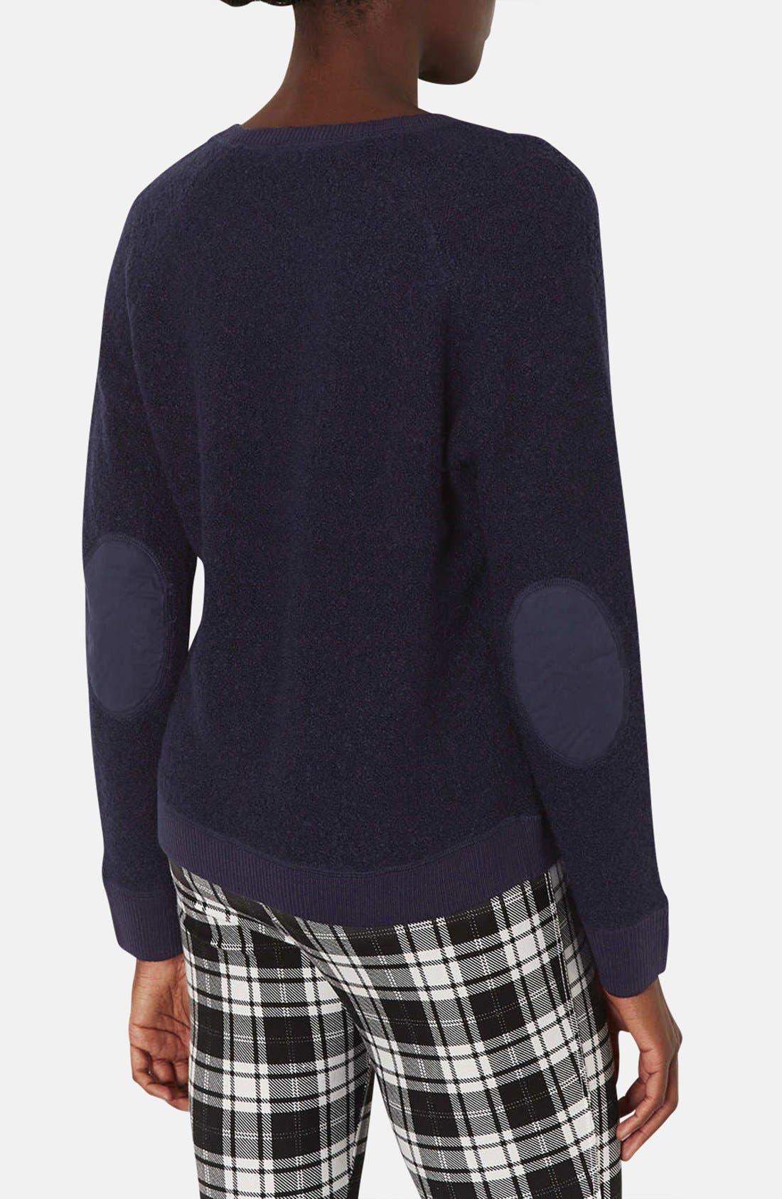 Alternate Image 2  - Topshop Bouclé Sweater