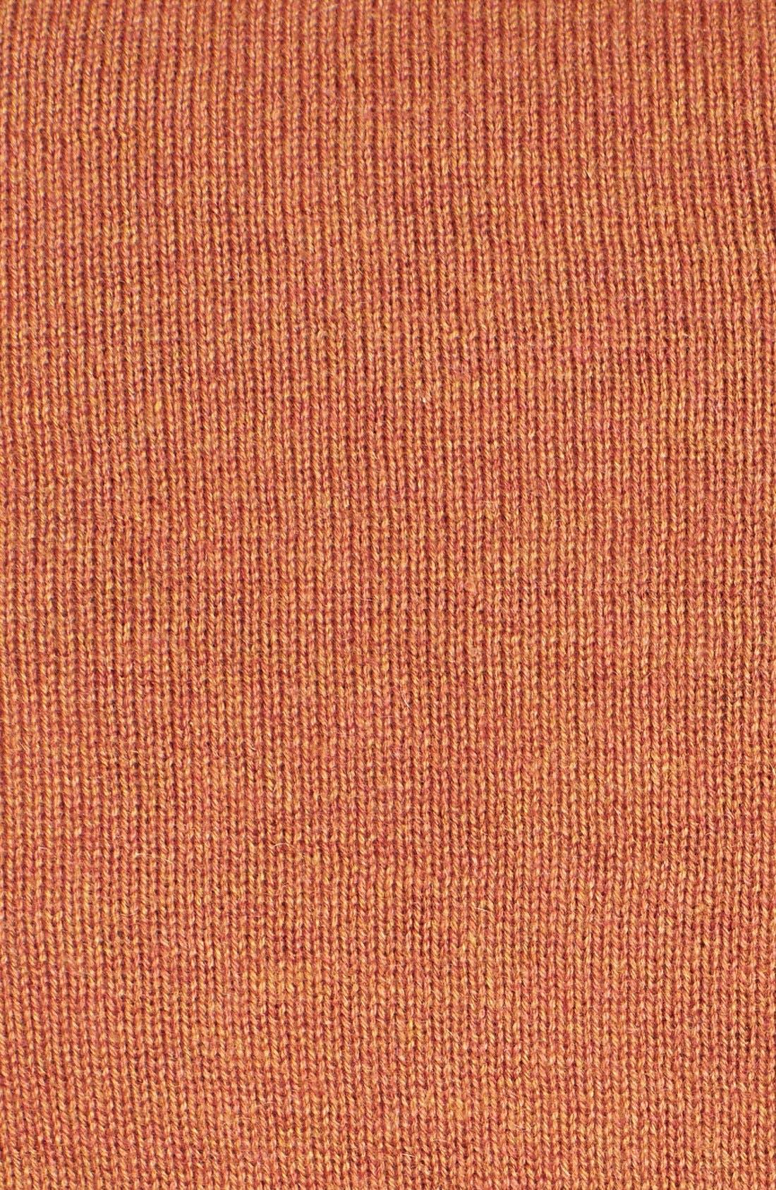 Alternate Image 3  - Robert Talbott Jacquard Quarter Zip Sweater