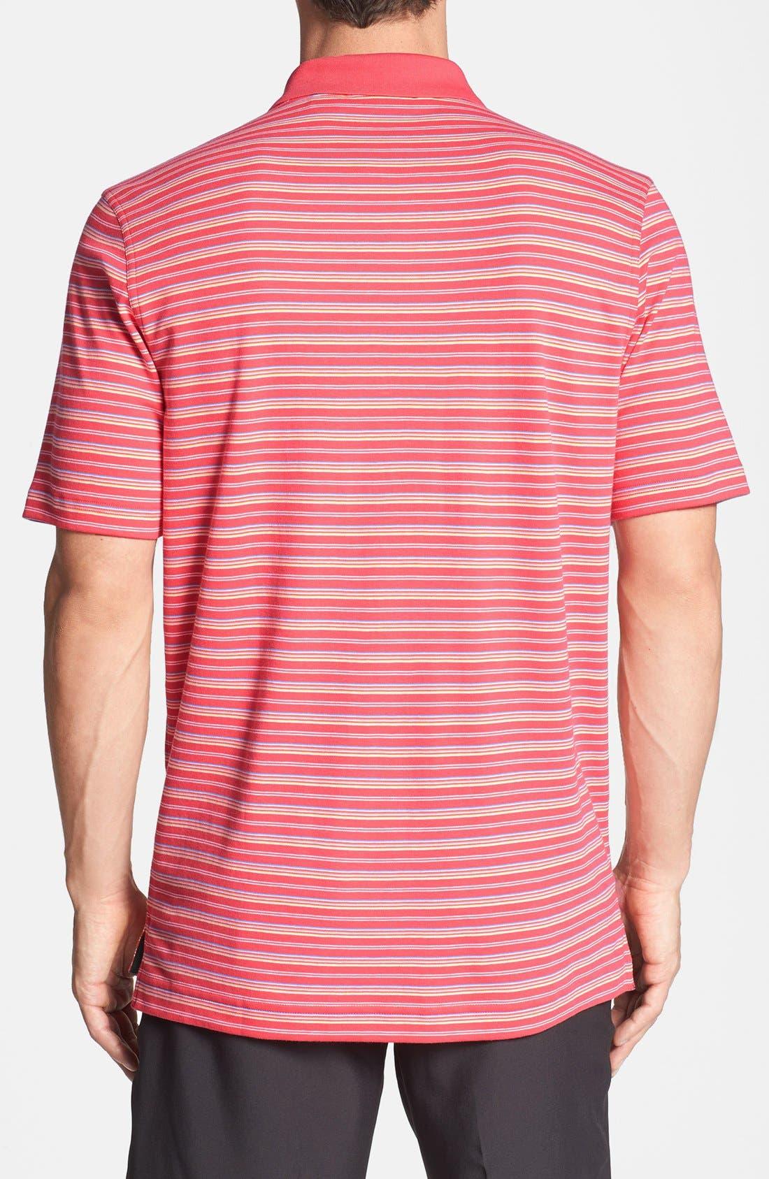 Alternate Image 2  - Bobby Jones 'Fine Line' Stripe Polo