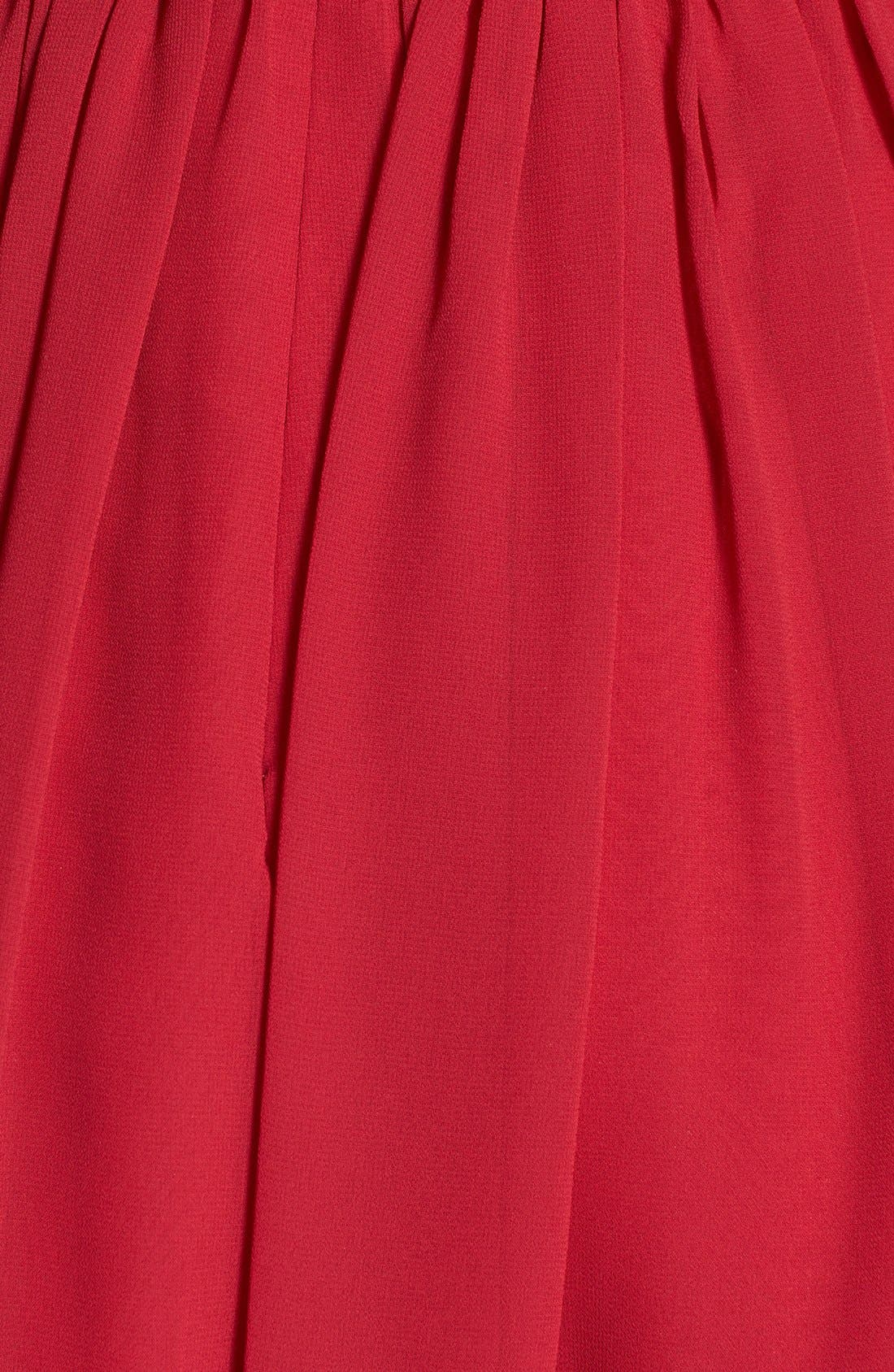 Alternate Image 4  - Jenny Yoo 'Cori' Gathered Chiffon Dress