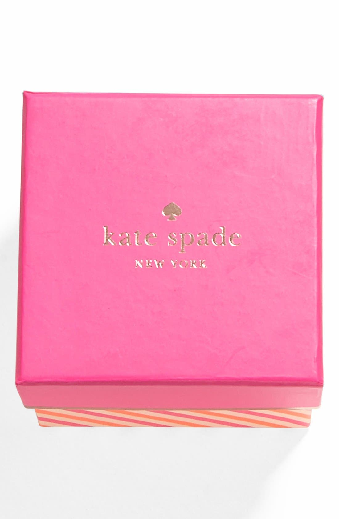 Alternate Image 3  - kate spade new york 'idiom - make me blush' boxed pavé charm bangle