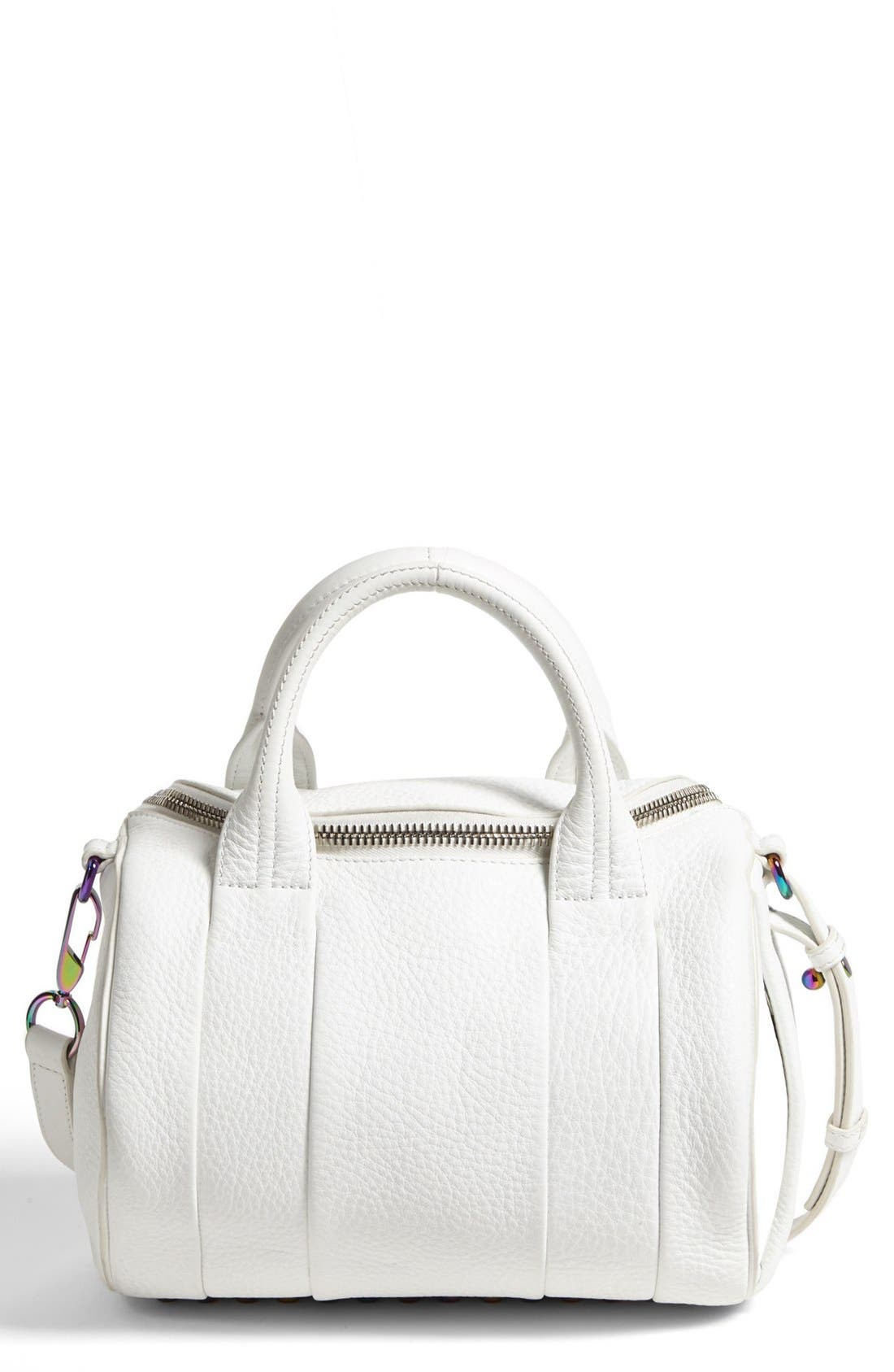 Alternate Image 1 Selected - Alexander Wang 'Rockie - Iridescent' Crossbody Satchel