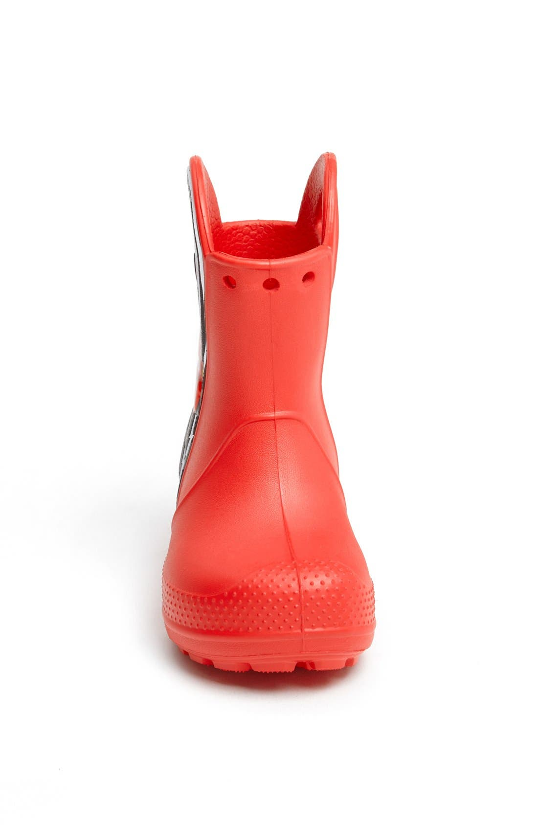 Alternate Image 3  - CROCS™ 'Lightning McQueen' Rain Boot (Walker, Toddler & Little Kid)