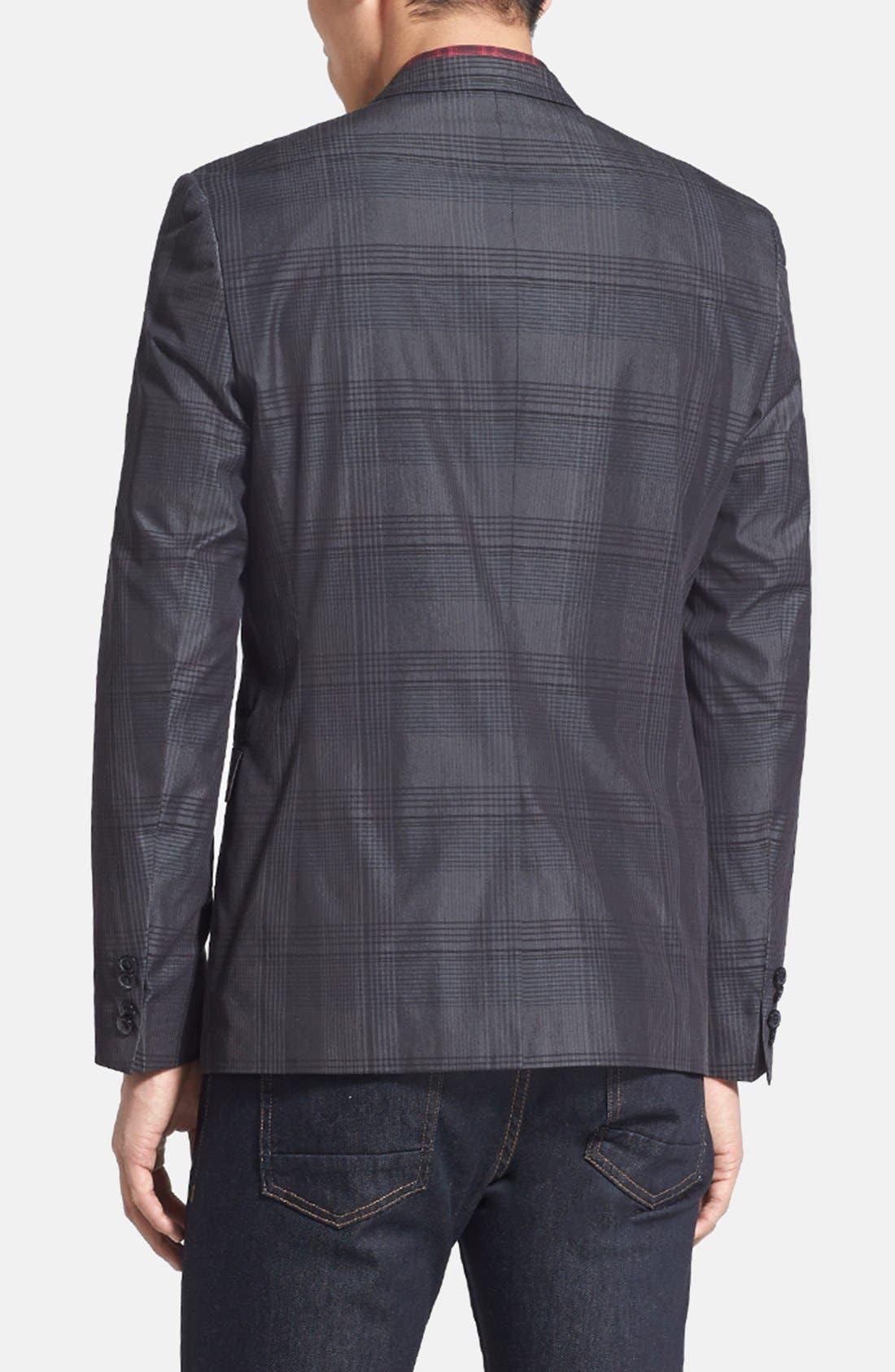 Alternate Image 2  - HUGO 'Adris' Extra Trim Fit Plaid Sportcoat