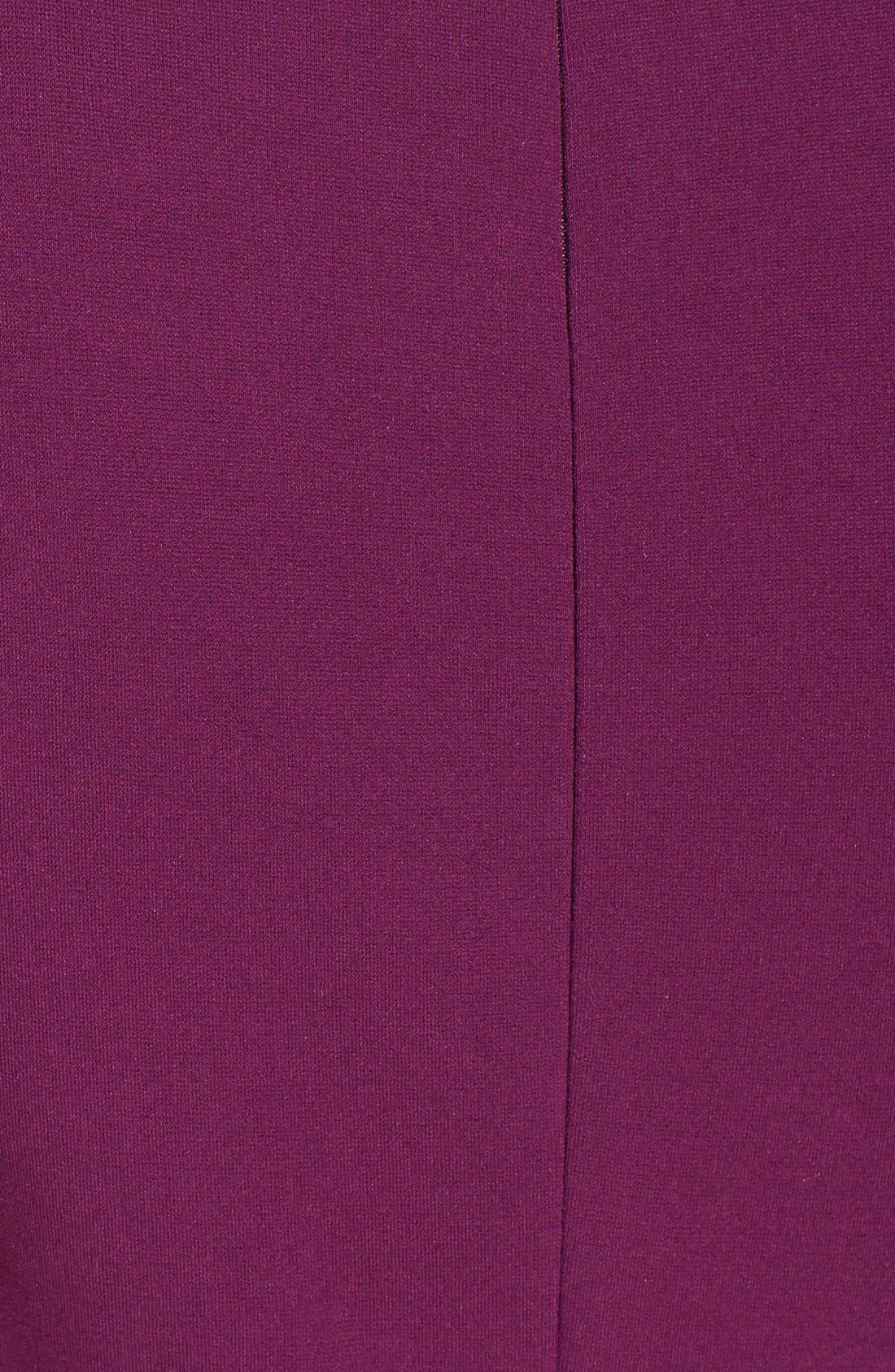 Alternate Image 3  - Diane von Furstenberg 'Jaelyn' Ponte Sheath Dress