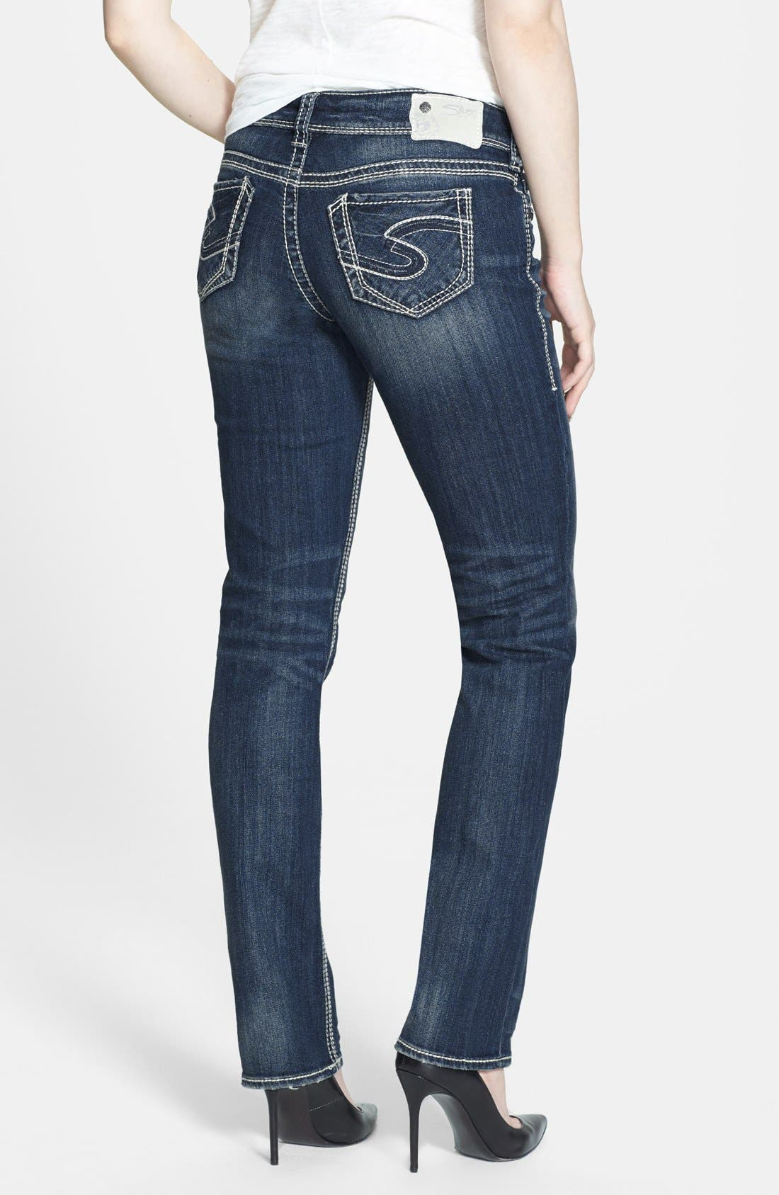 Silver Jeans Co. 'Suki' Straight Leg Jeans (Indigo) | Nordstrom