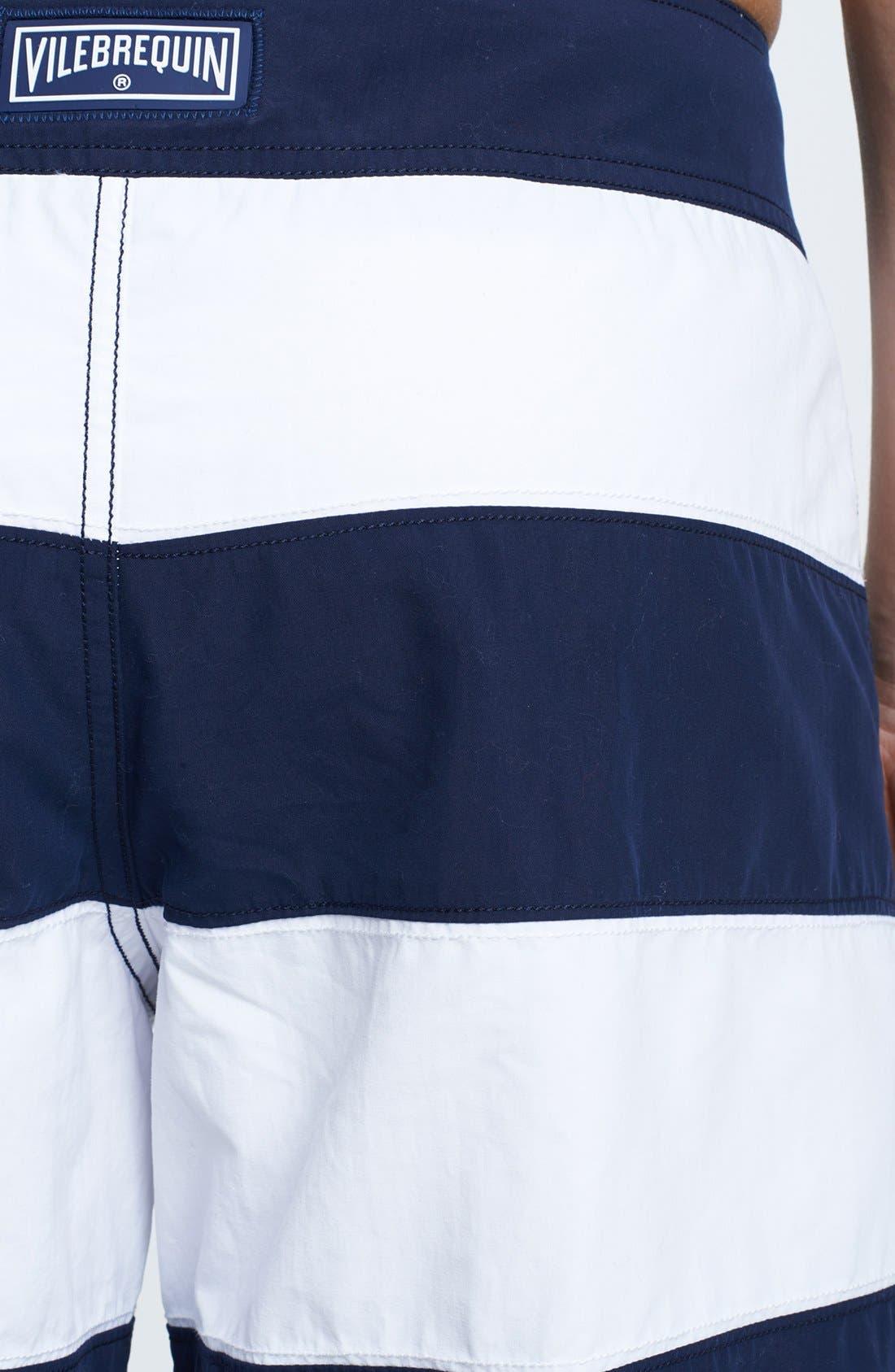 Alternate Image 3  - Vilebrequin 'Octant' Stripe Board Shorts