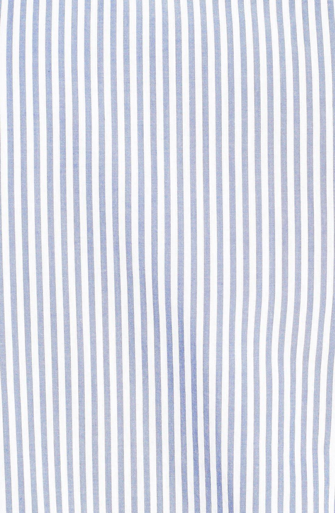 Alternate Image 3  - Original Penguin Heritage Fit Stripe Sport Shirt