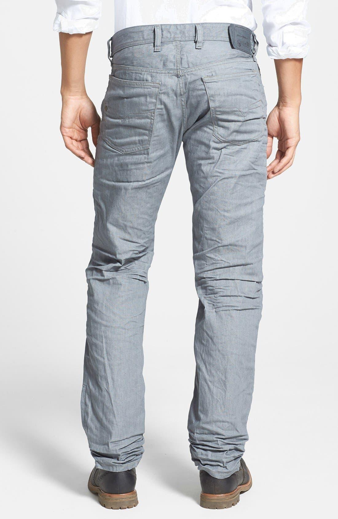 Alternate Image 2  - DIESEL® 'Waykee' Straight Leg Jeans (824H)