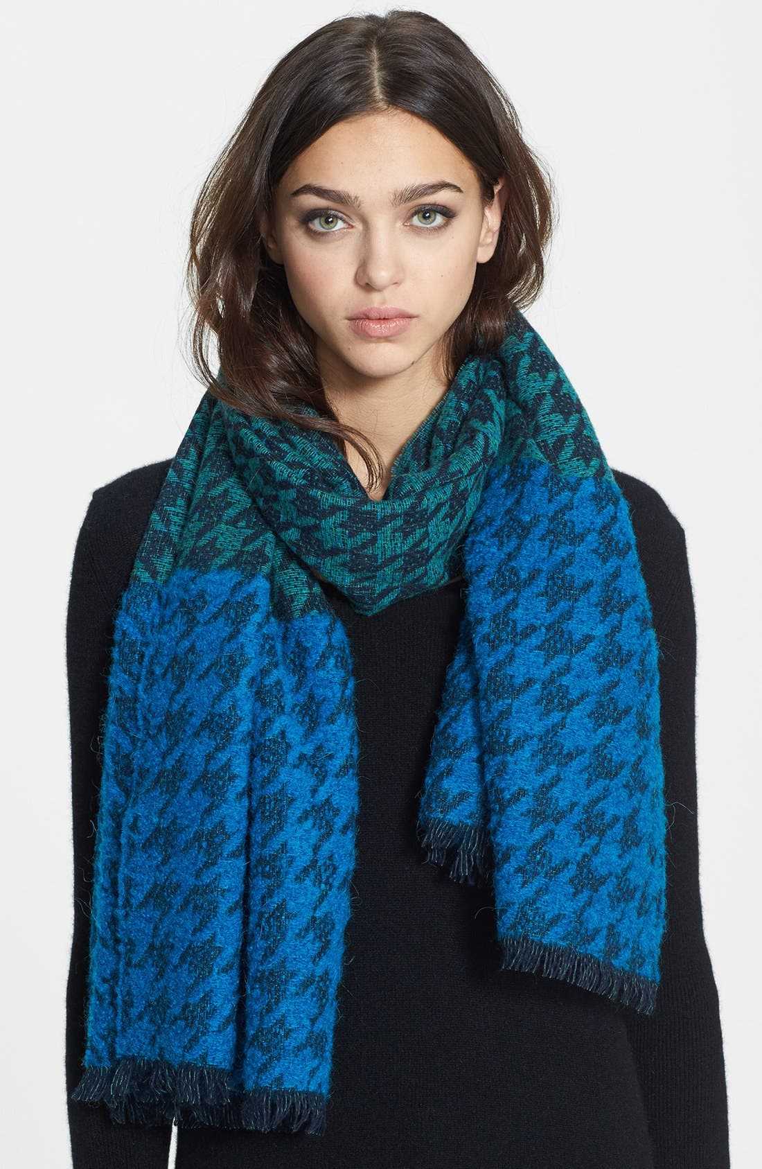 Alternate Image 1 Selected - MARC BY MARC JACOBS 'Terence' Houndstooth Scarf