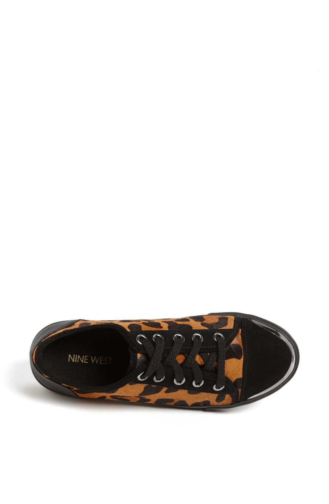 Alternate Image 3  - Nine West 'Deanne' Leopard Print Sneaker