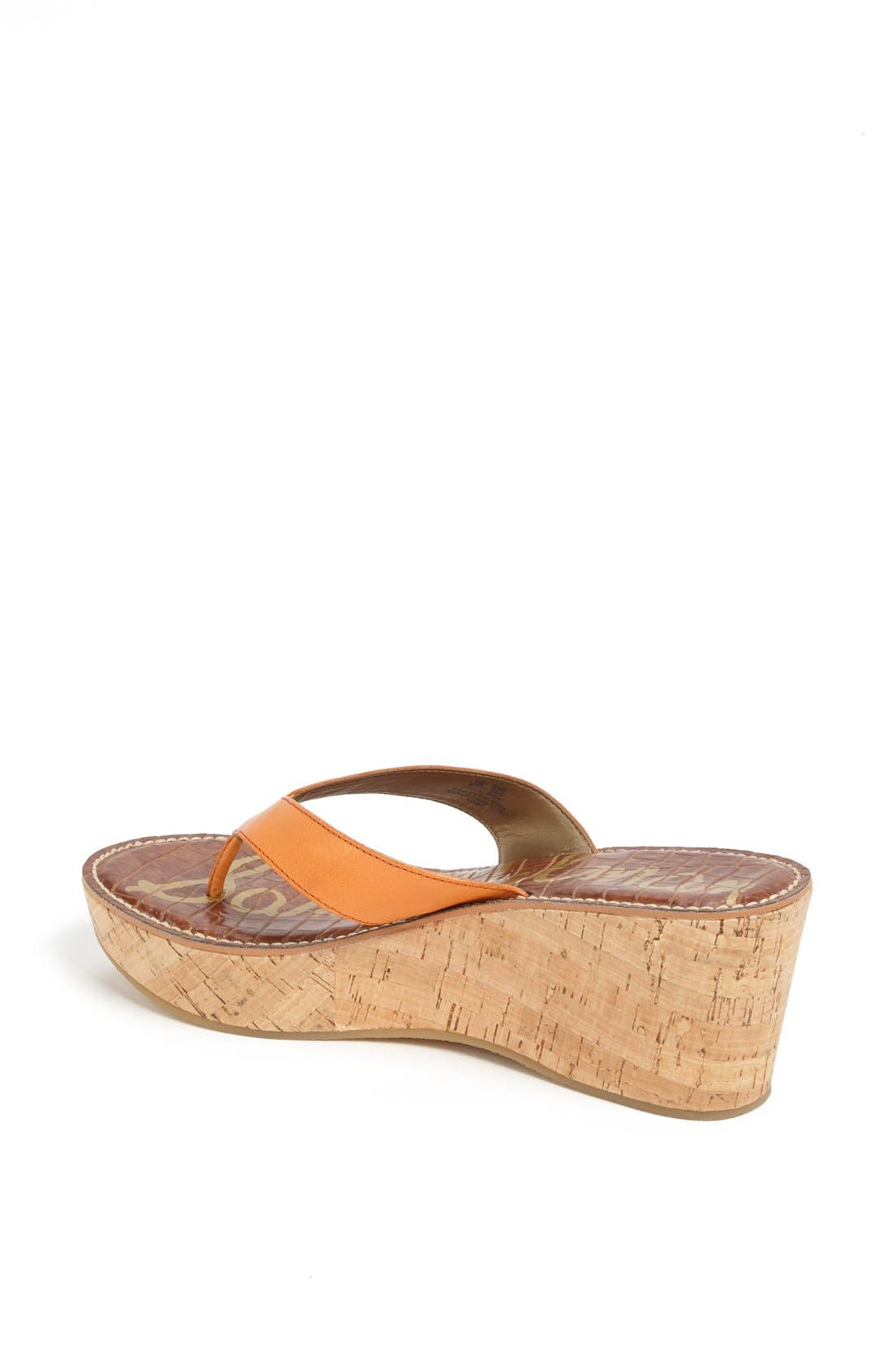 Alternate Image 2  - Sam Edelman 'Romy' Wedge Sandal (Women)
