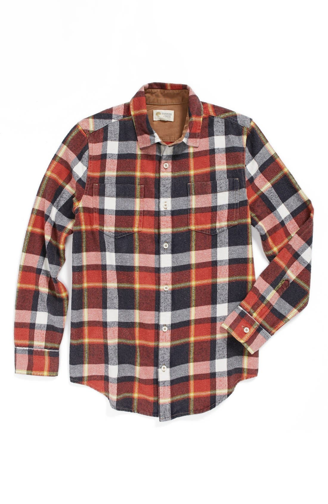 Main Image - Tucker + Tate 'Erland' Flannel Shirt (Big Boys)