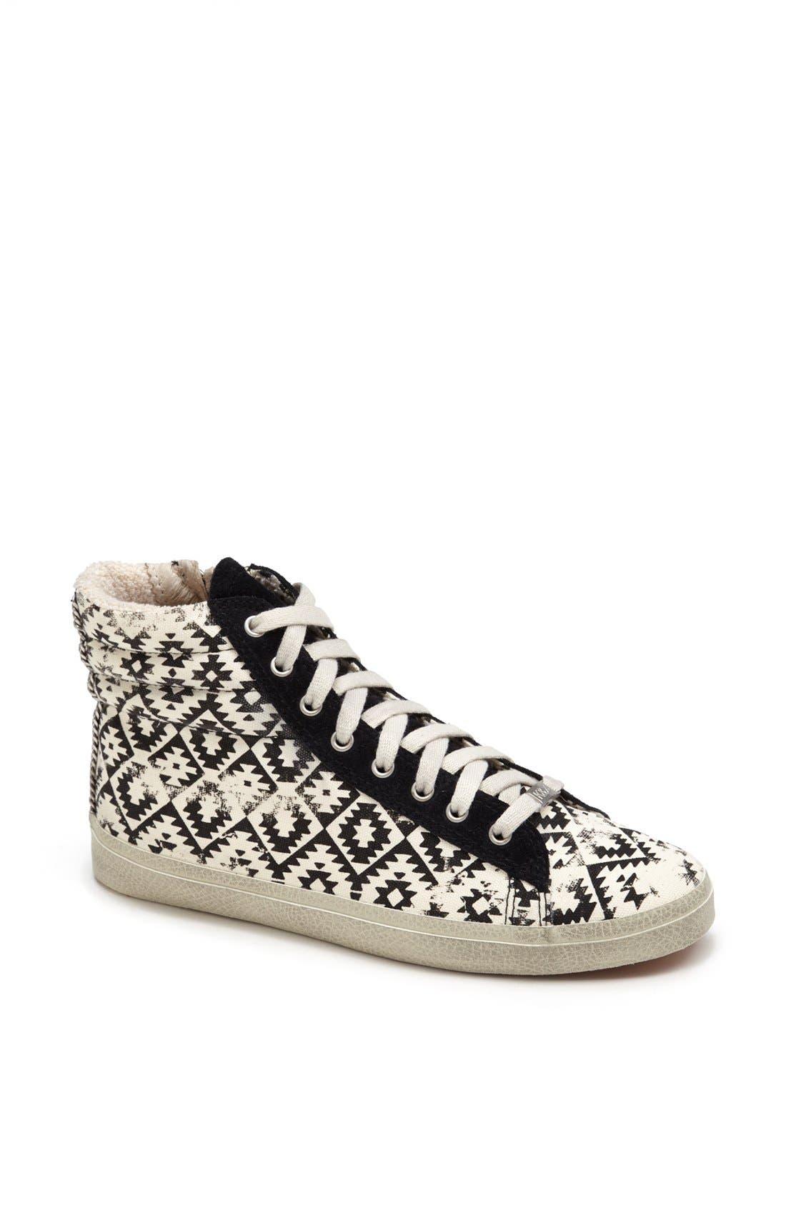 Alternate Image 1 Selected - Kim & Zozi 'Gypster' High Top Sneaker