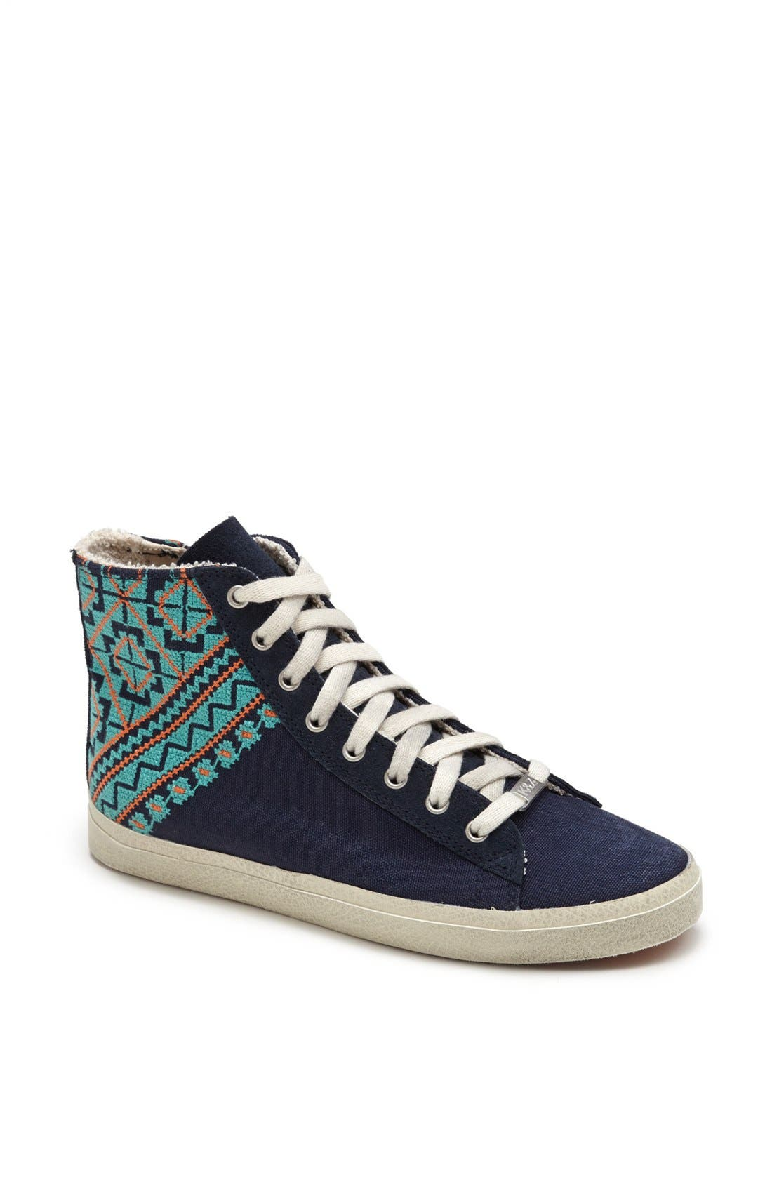 Alternate Image 1 Selected - Kim & Zozi 'Woven' High Top Sneaker
