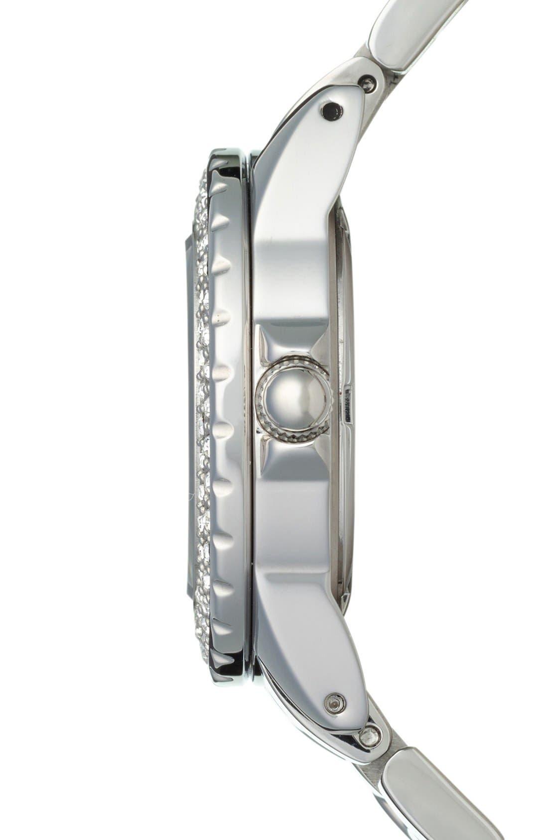 Alternate Image 4  - Folli Follie 'Daydream' Crystal Bezel Bracelet Watch, 29mm