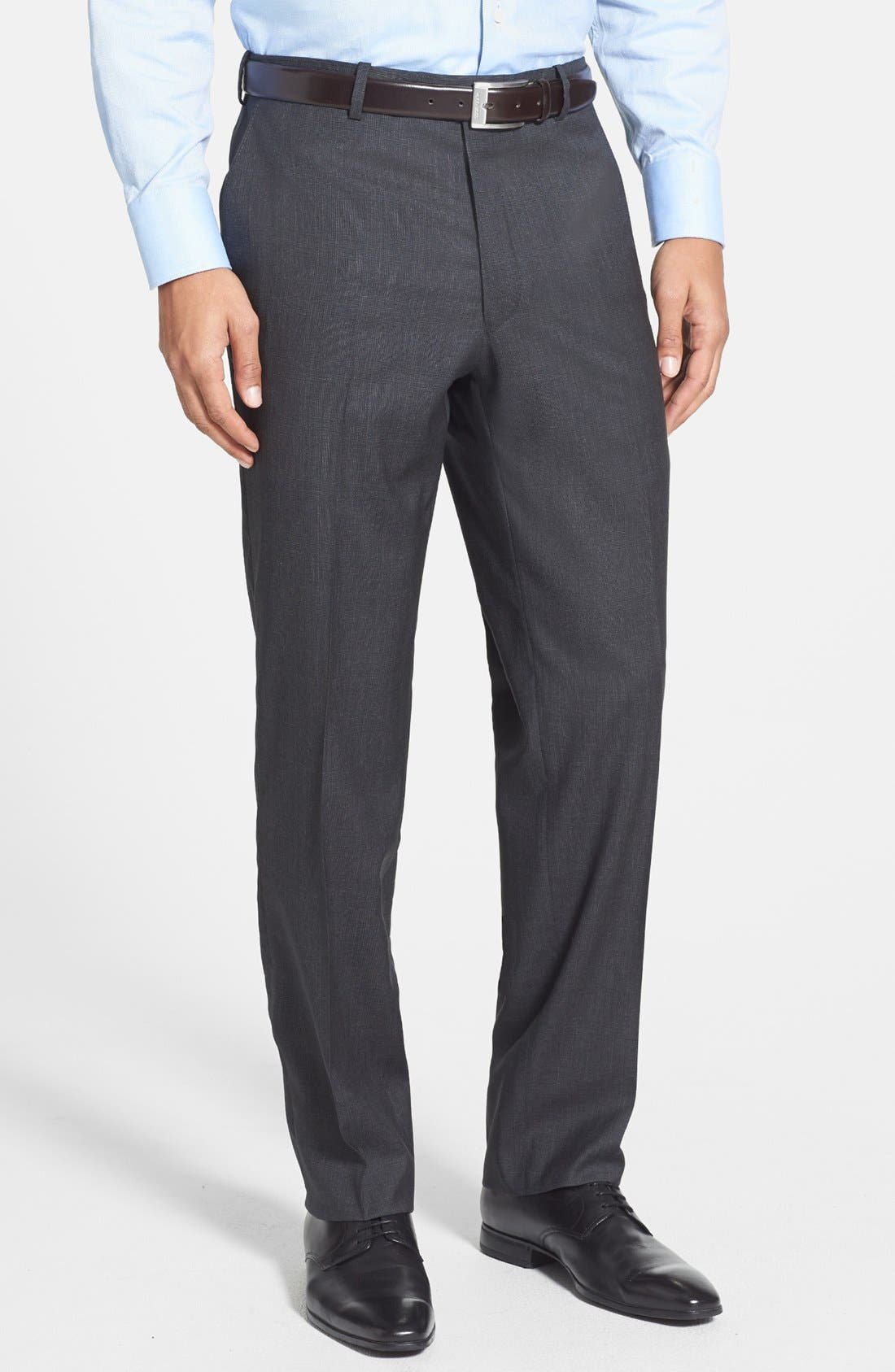 Alternate Image 4  - Peter Millar Classic Fit Wool Suit