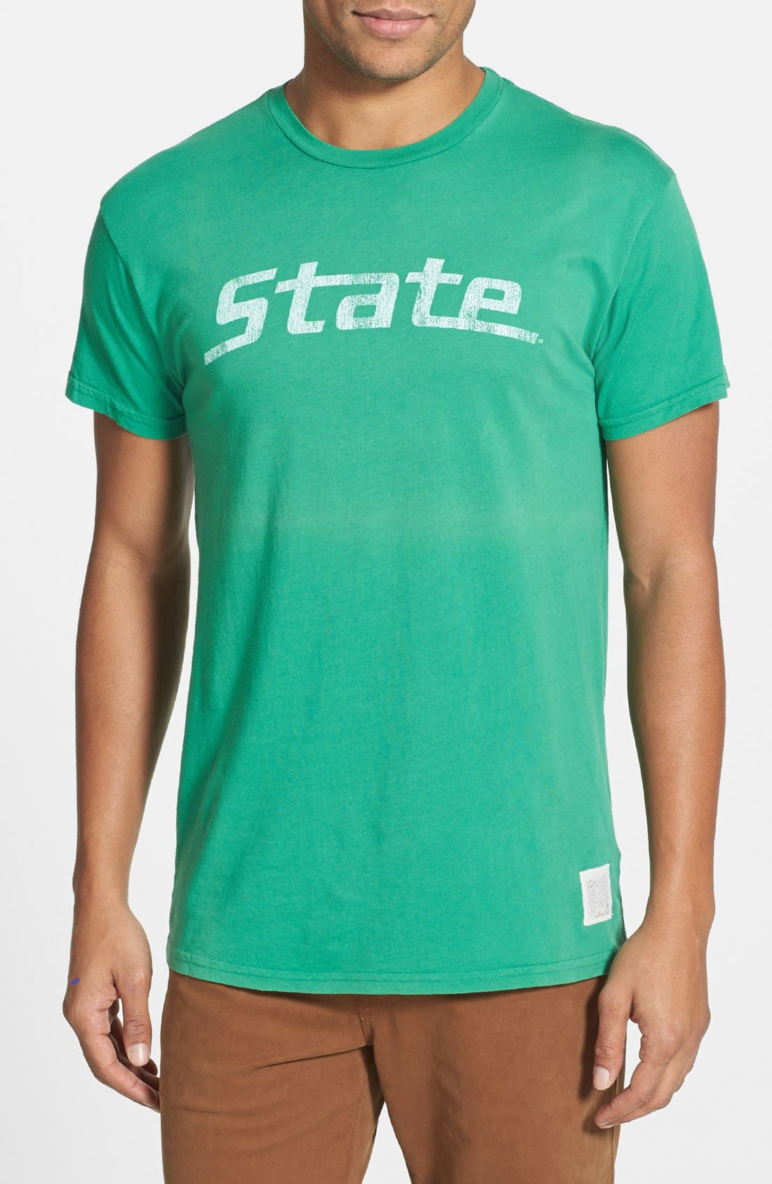 Alternate Image 1 Selected - Retro Brand 'Michigan State' Graphic T-Shirt