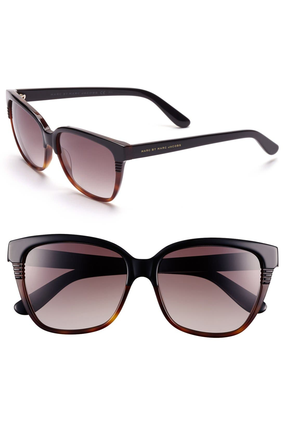 Main Image - MARC BY MARC JACOBS 56mm Retro Sunglasses