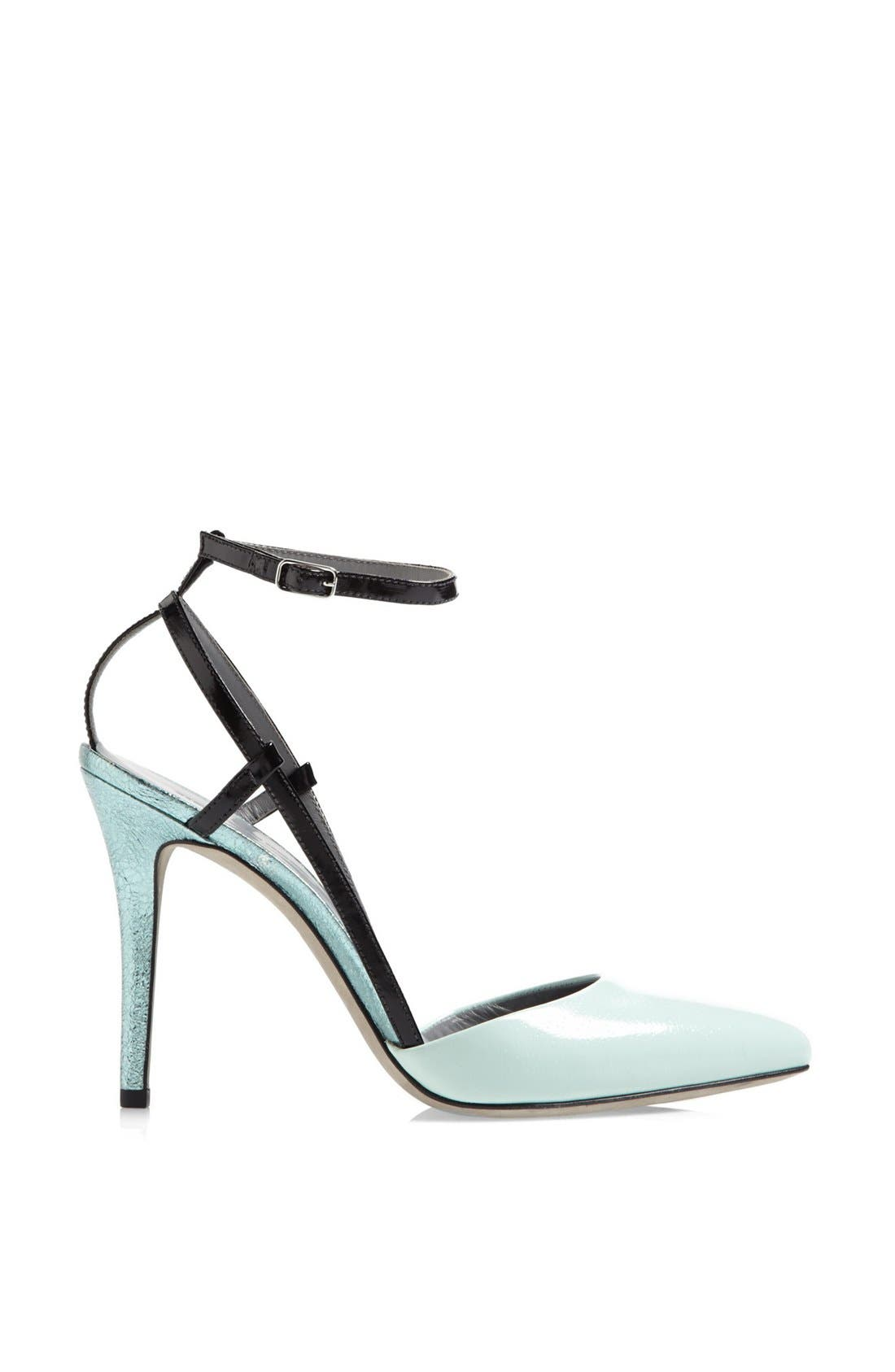 Alternate Image 4  - Alexander Wang 'Jodie' Ankle Strap Calfskin Leather Pump