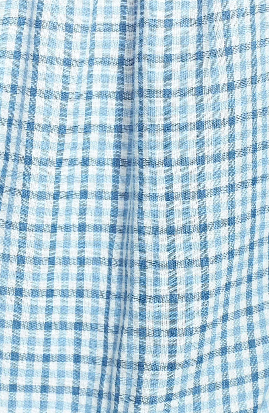 Alternate Image 3  - Lucky Brand Gingham Plaid Popover Shirt