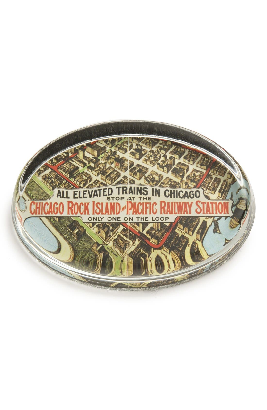 Main Image - Ben's Garden 'Vintage City of Chicago #4' Paperweight