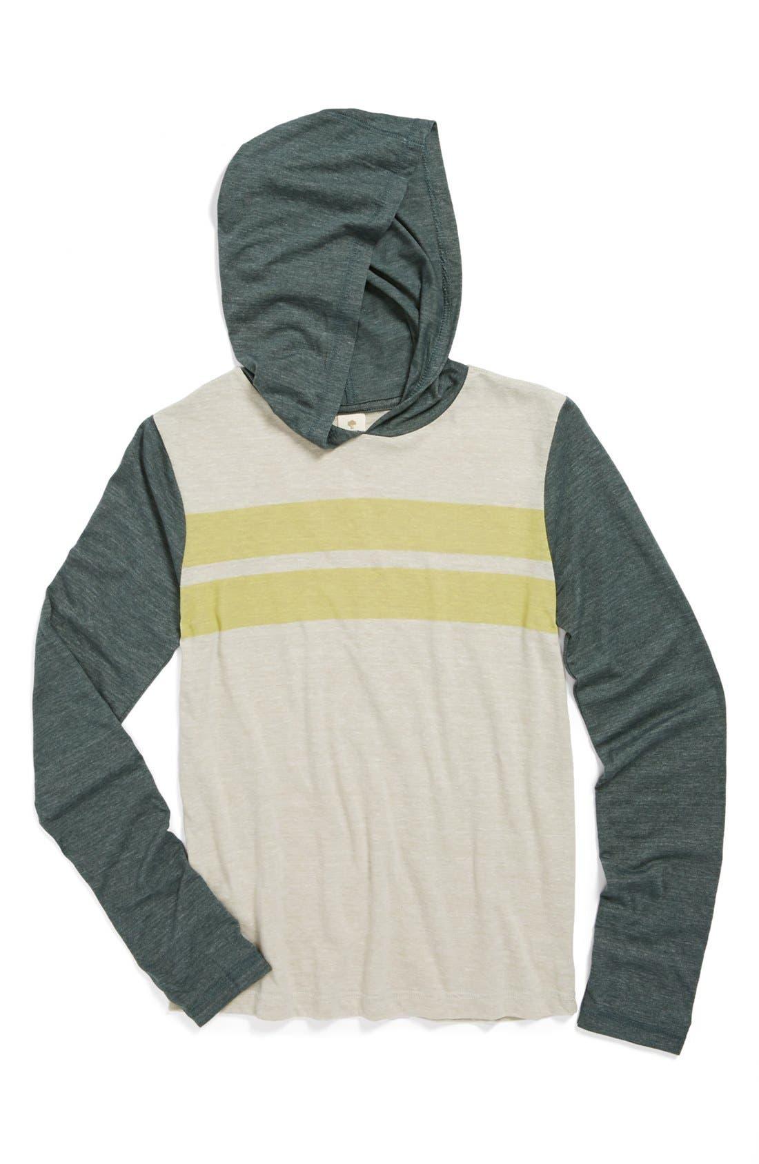 Main Image - Tucker + Tate 'Halsten' Hooded T-Shirt (Big Boys)