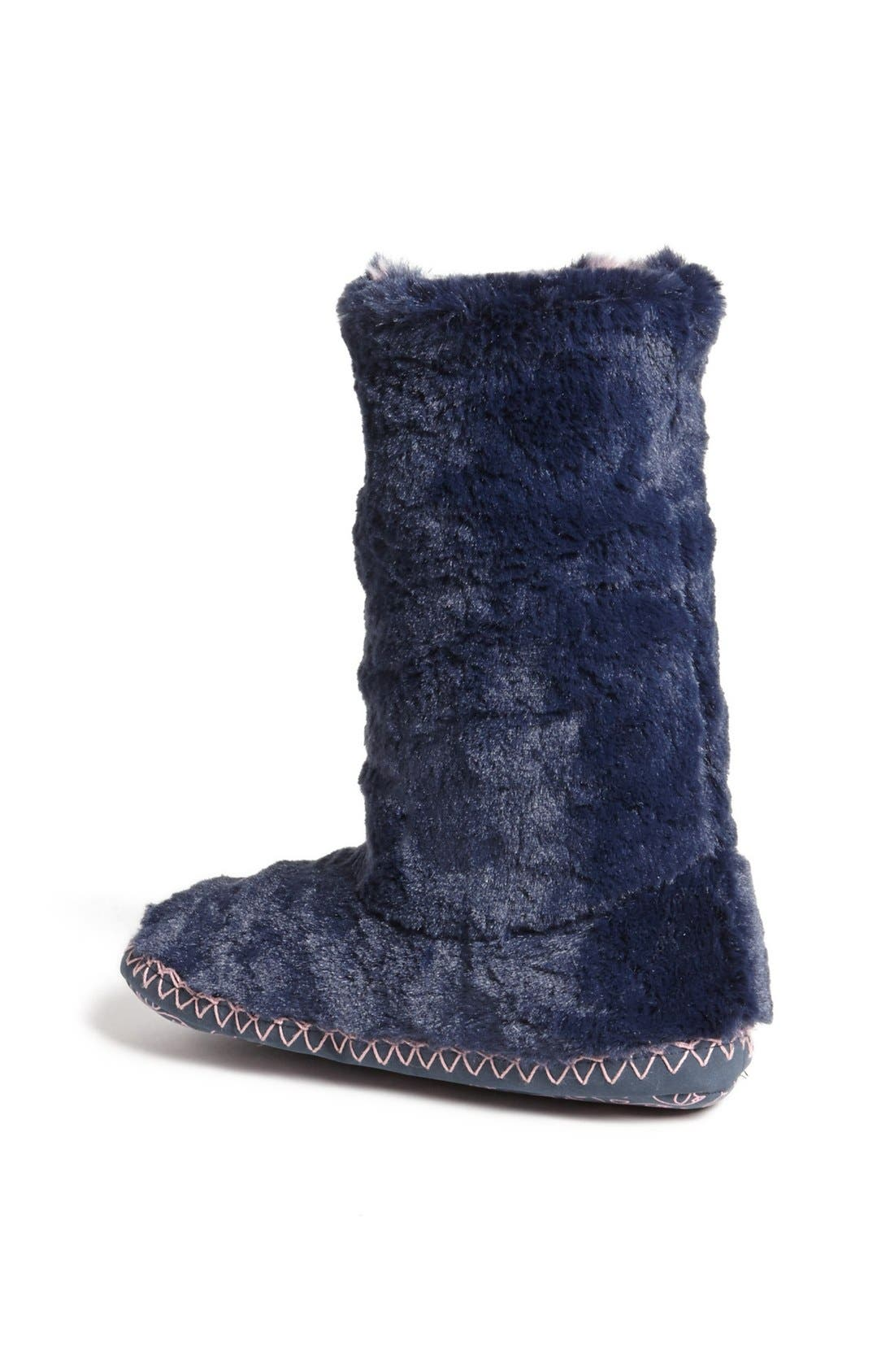 Alternate Image 3  - Bedroom Athletics 'Sophia' Faux Fur Bootie Slipper