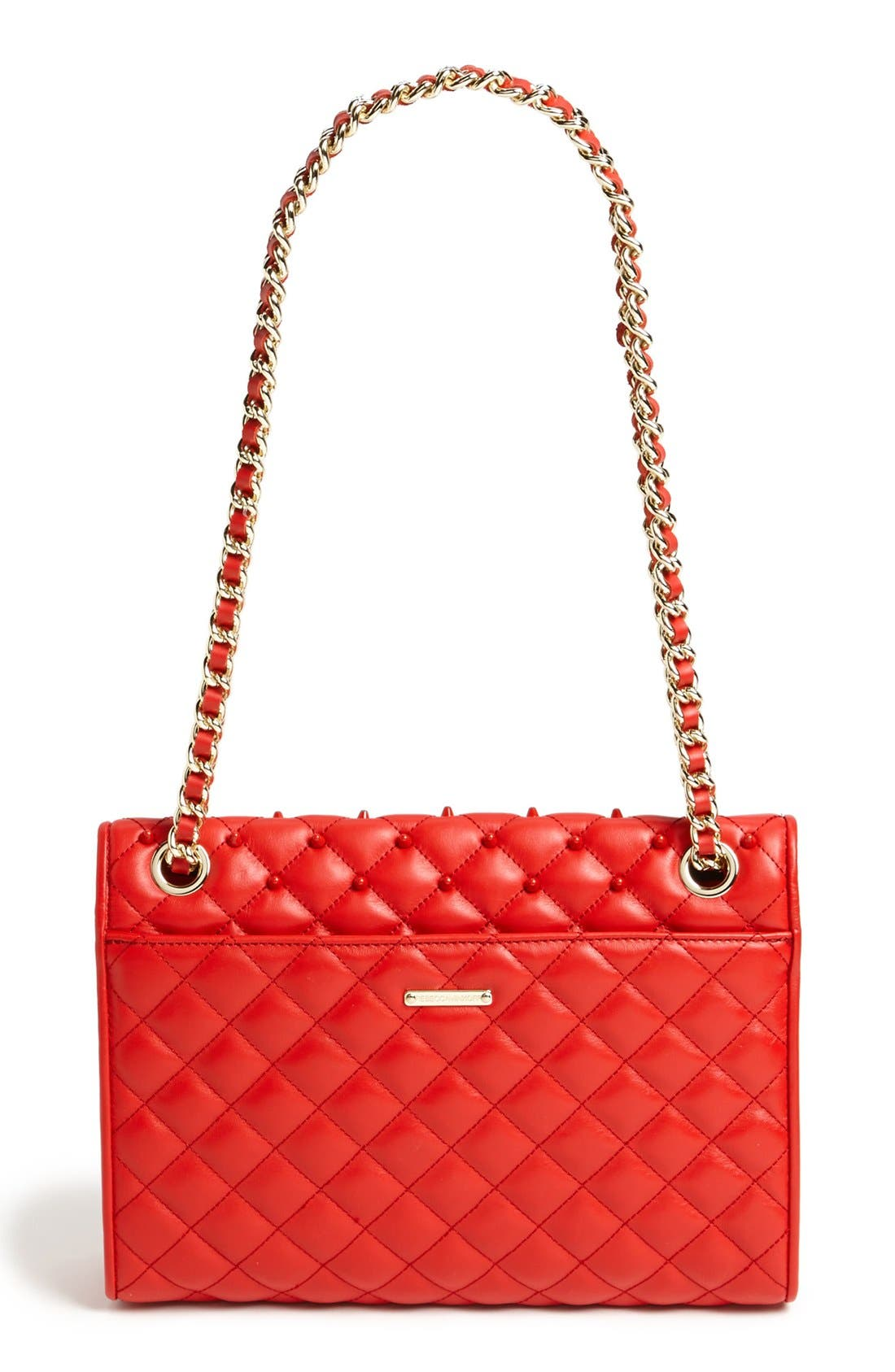 Alternate Image 4  - Rebecca Minkoff 'Affair - Studded' Shoulder Bag