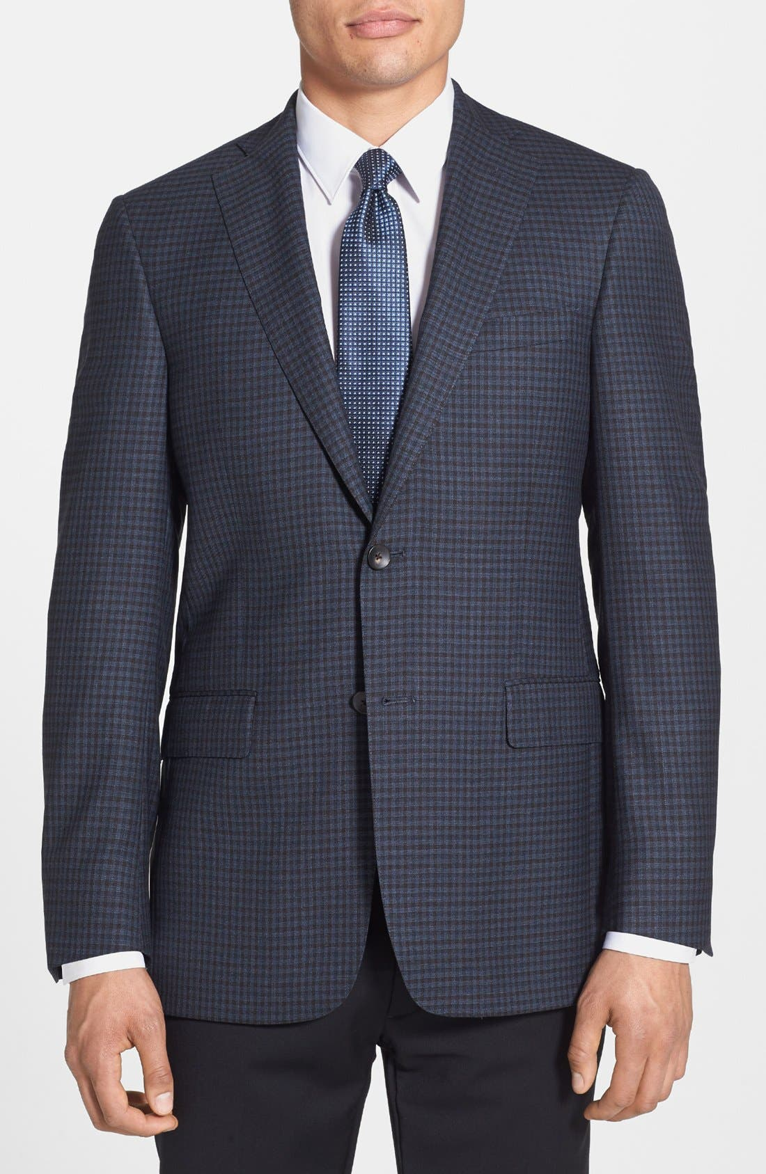 Alternate Image 1 Selected - Hart Schaffner Marx Classic Fit Check Sportcoat