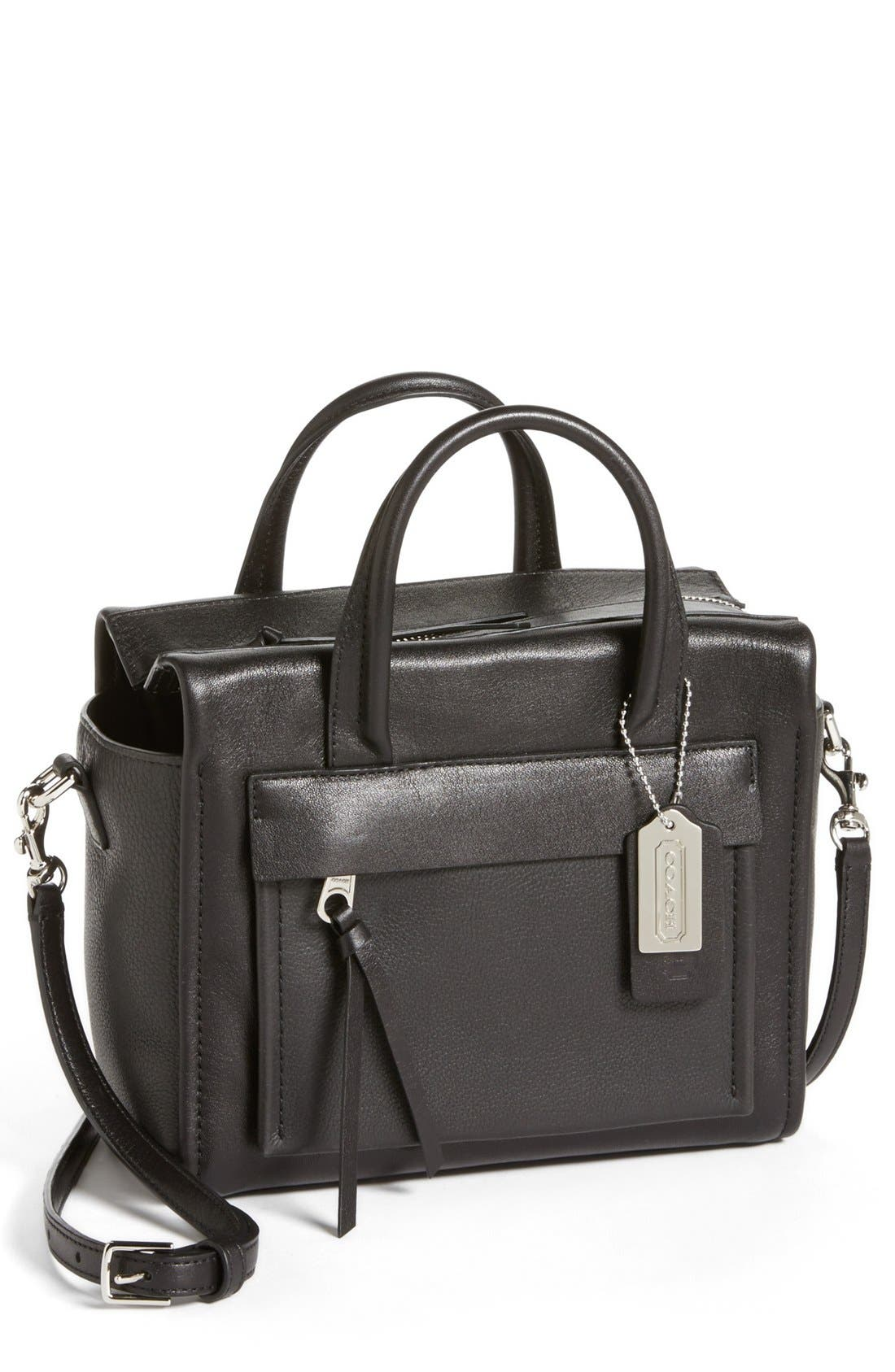 Alternate Image 1 Selected - COACH 'Bleecker - Mini Riley' Leather Crossbody Bag