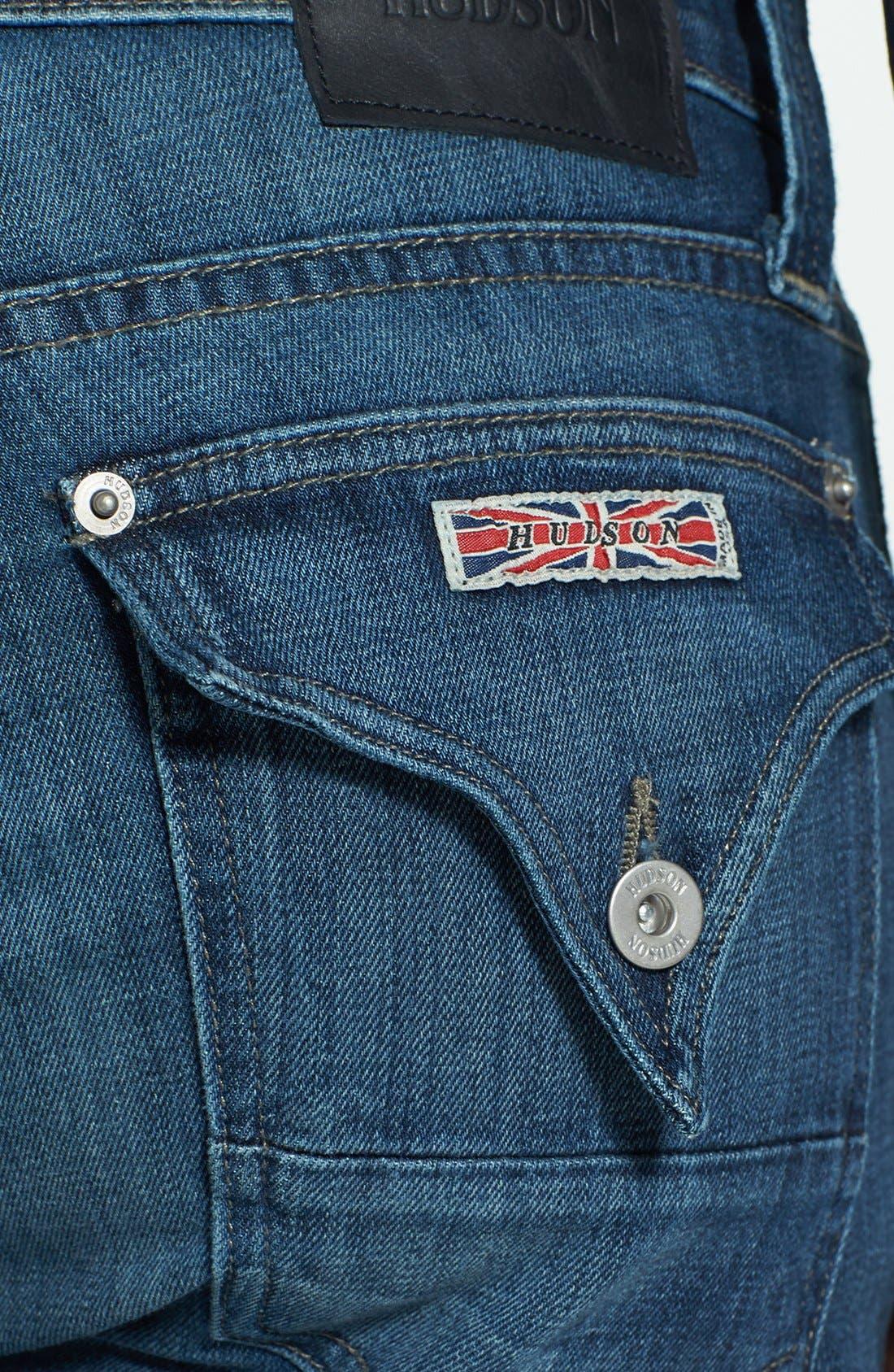 Alternate Image 4  - Hudson Jeans 'Webber' Bootcut Jeans (Harris) (Online Exclusive)