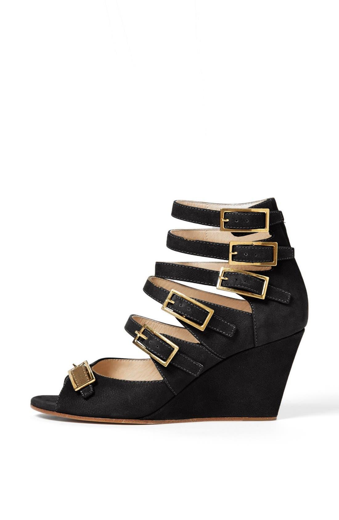 Alternate Image 4  - Chloé 'Arce' Multi Strap Wedge Sandal