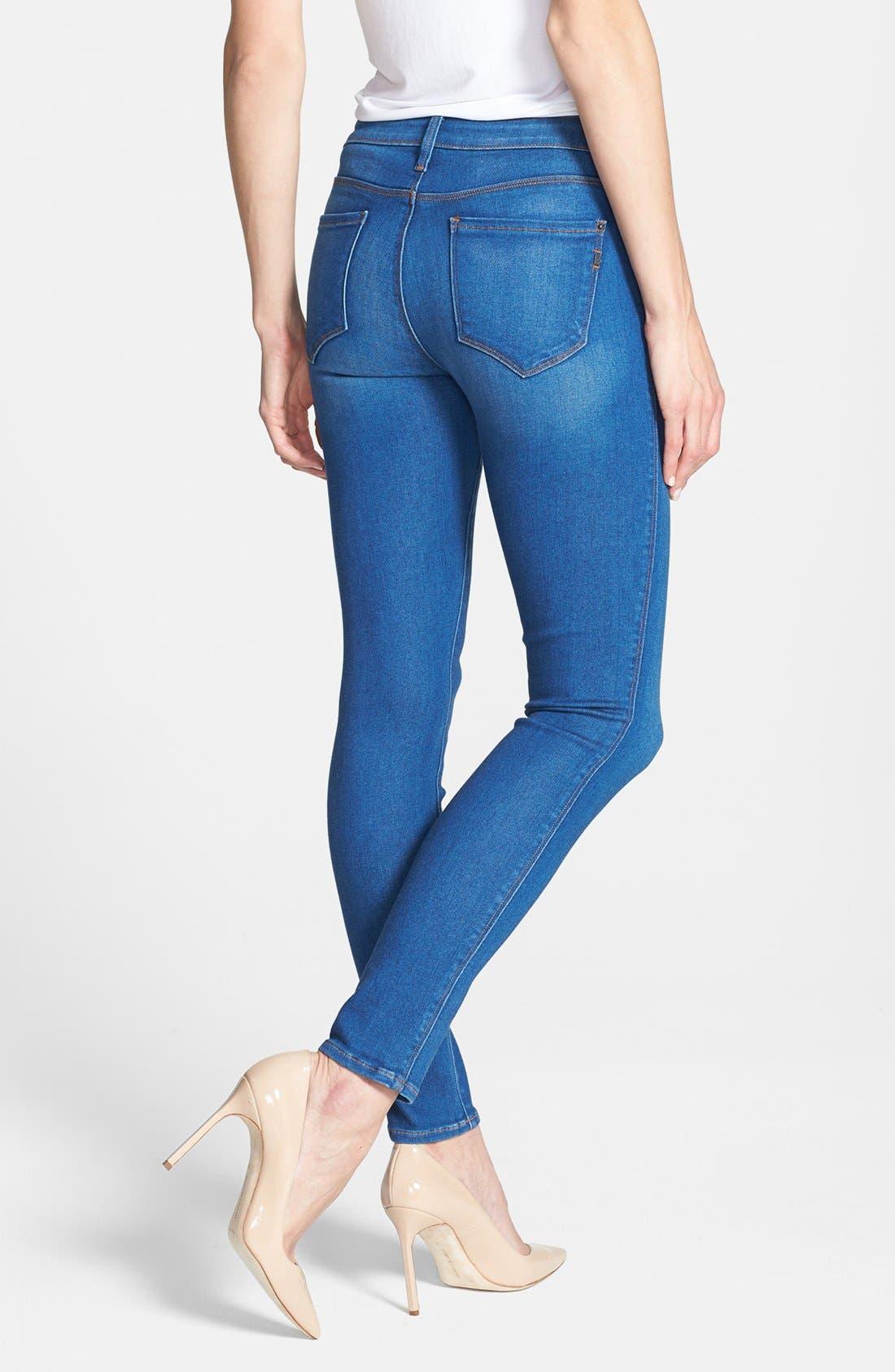Alternate Image 2  - Genetic 'Shya' Cigarette Skinny Jeans (Impact)