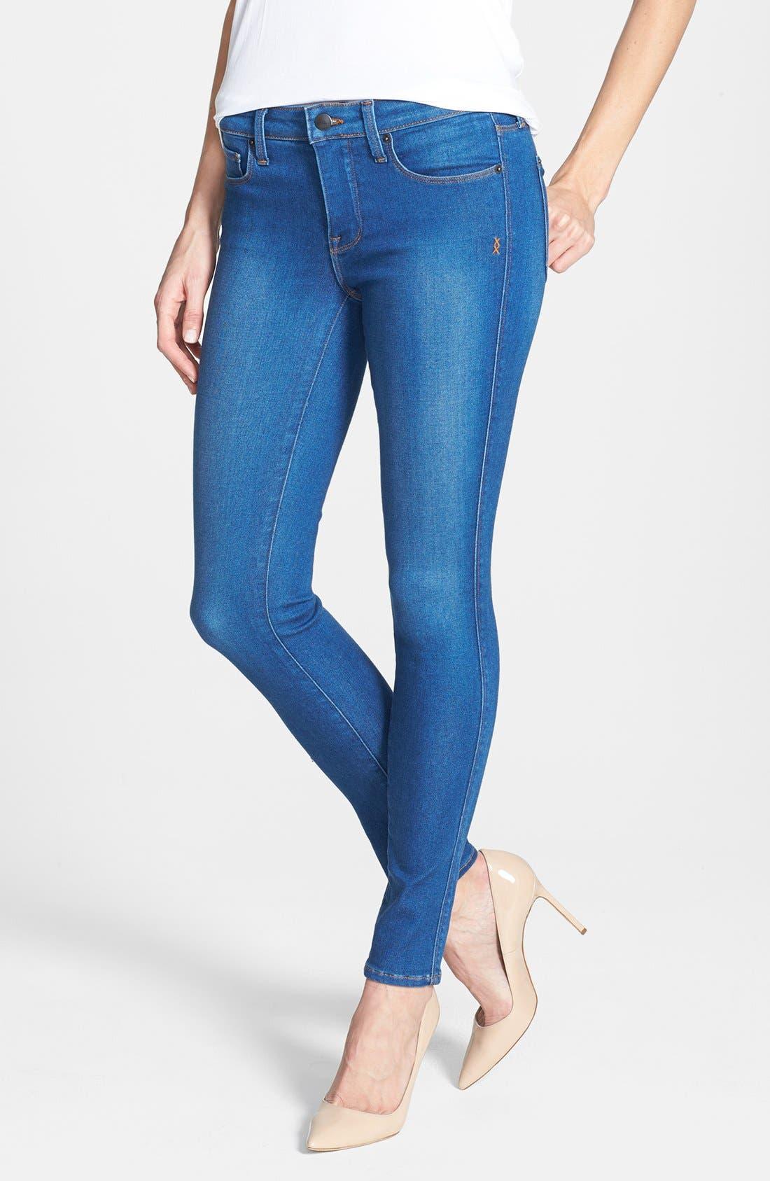 Alternate Image 1 Selected - Genetic 'Shya' Cigarette Skinny Jeans (Impact)