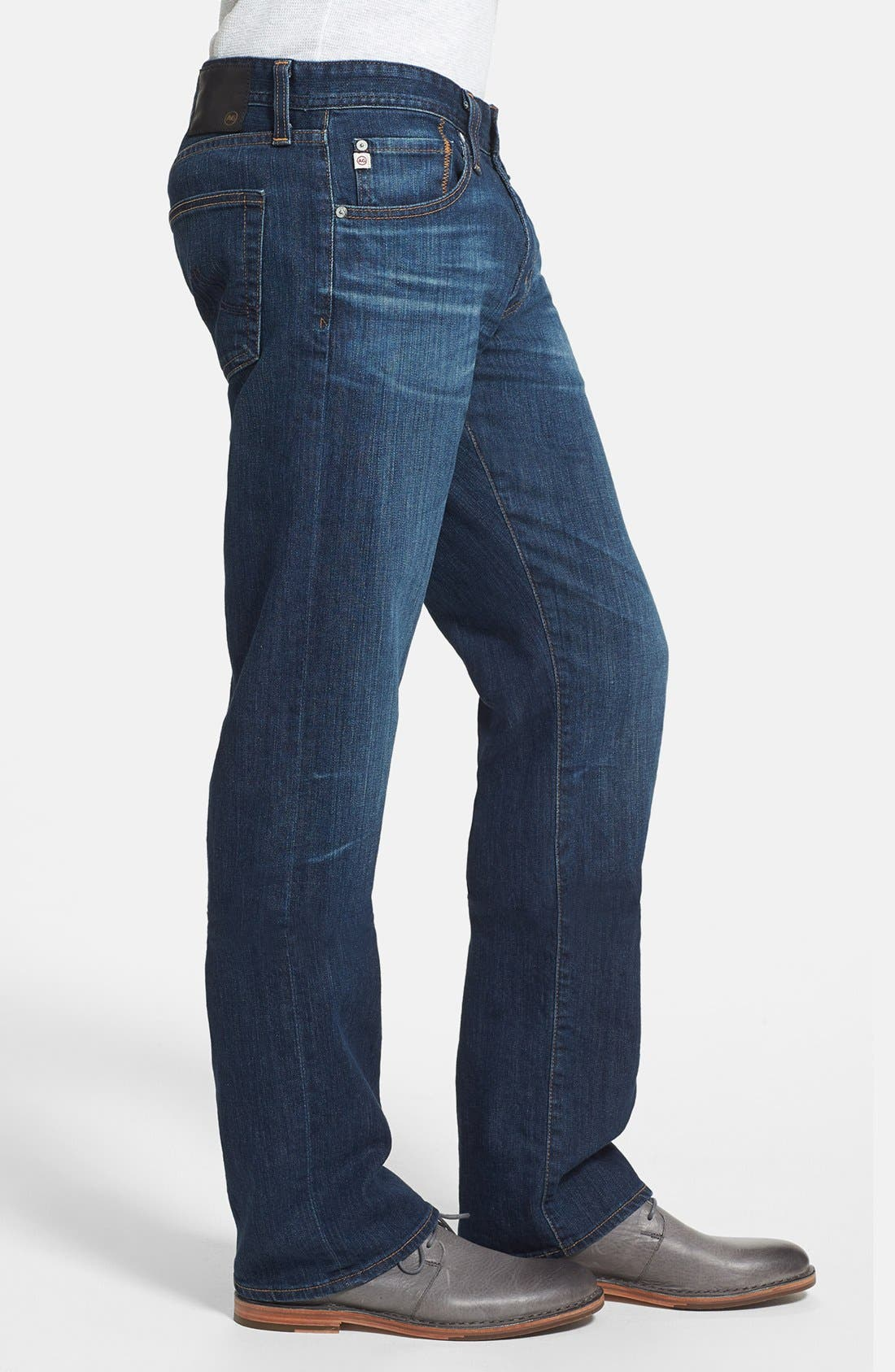 Alternate Image 3  - AG 'Protégé' Straight Leg Jeans (4 Year Brisk)