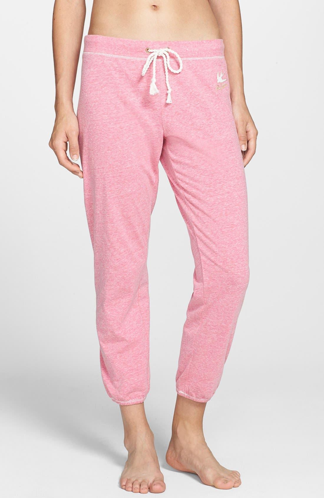 Alternate Image 1 Selected - Juicy Couture Crop Sweatpants