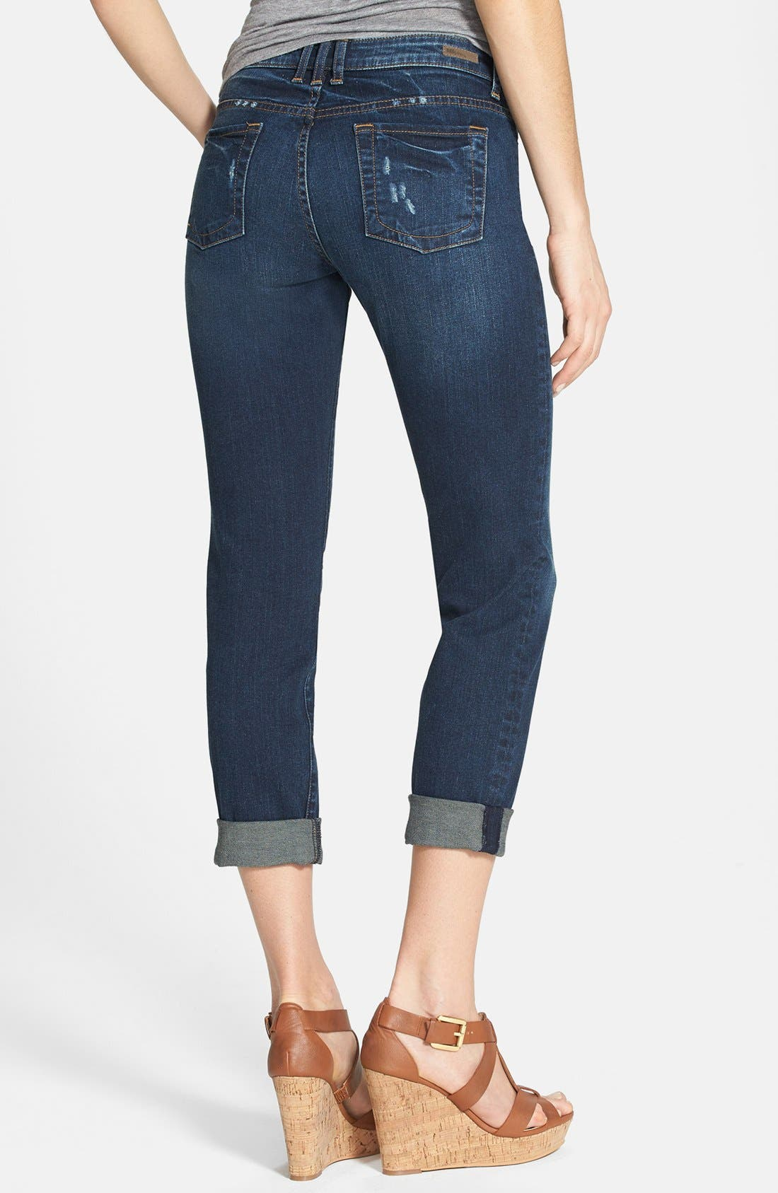 Alternate Image 2  - KUT from the Kloth 'Catherine' Boyfriend Jeans (Magnify) (Regular & Petite)