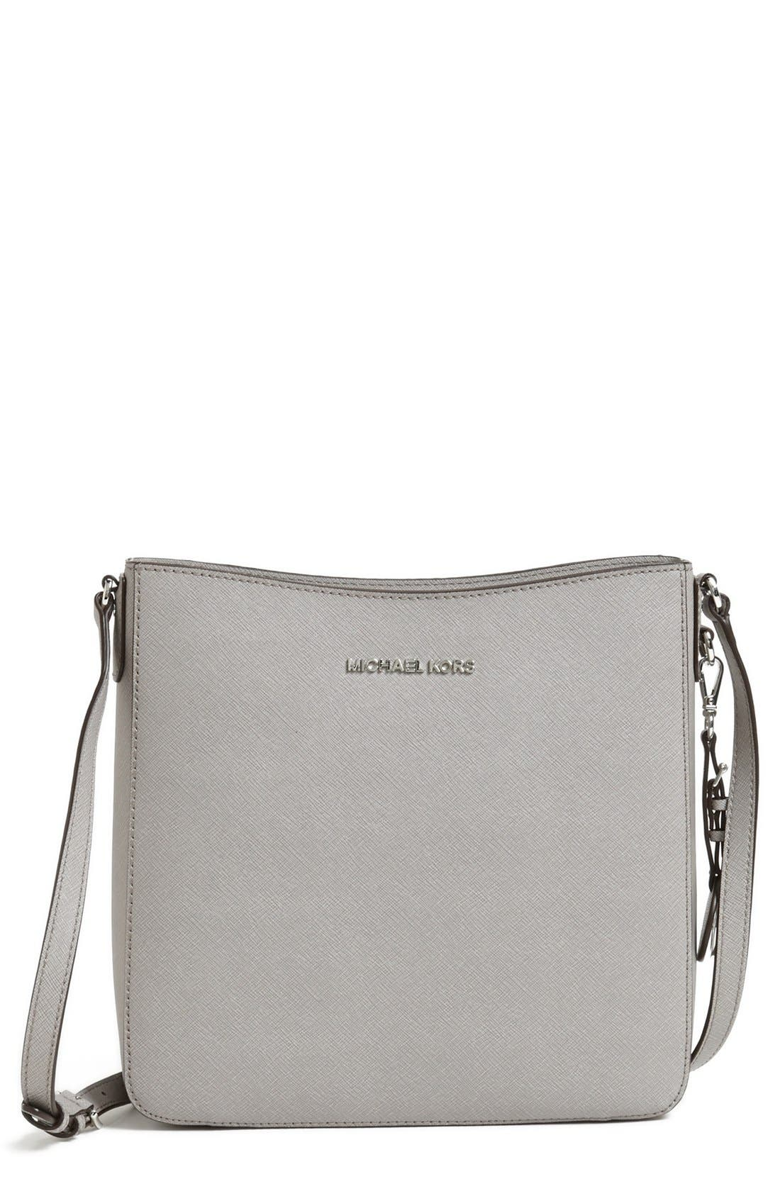 Alternate Image 1 Selected - MICHAEL Michael Kors 'Large Jet Set' Crossbody Bag
