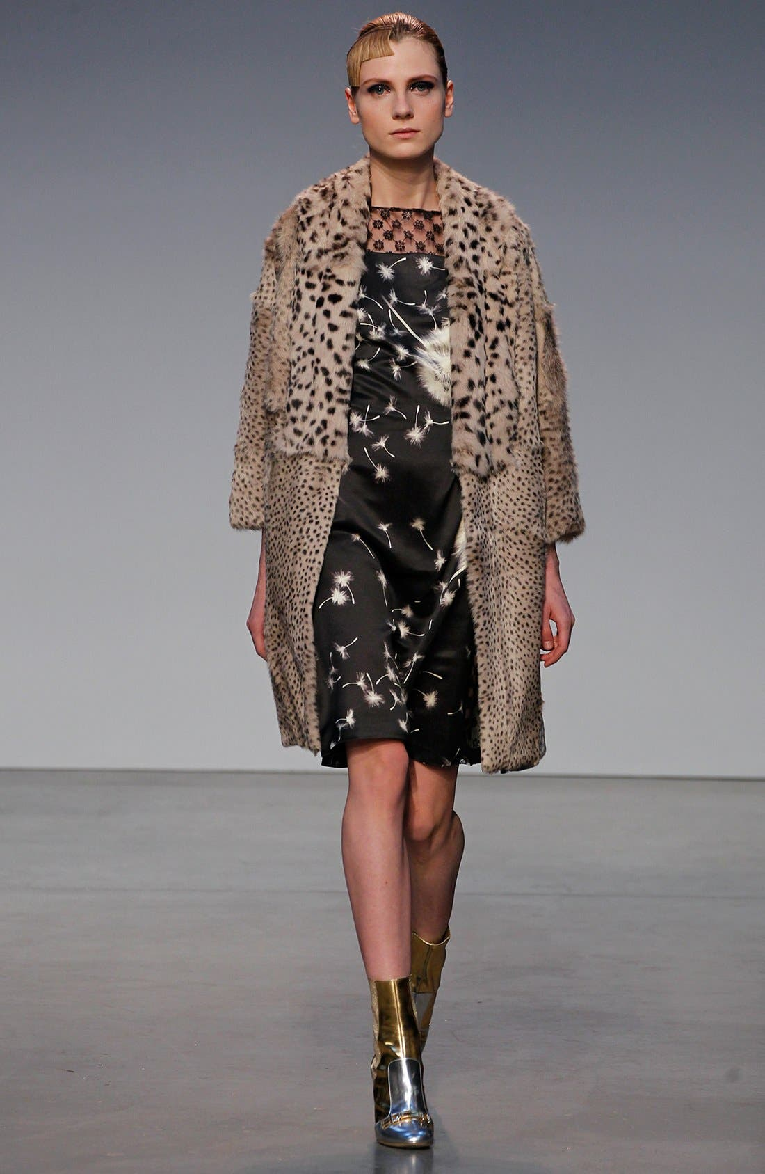 Alternate Image 5  - Thakoon Floral Wool & Lace Dress