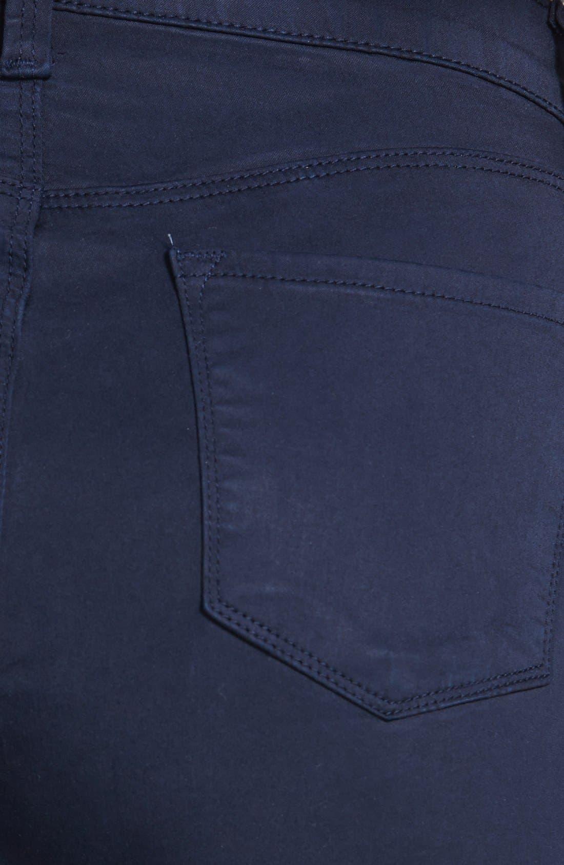 Alternate Image 3  - J Brand 'Maria 2311' High Rise Skinny Jeans (Marine)