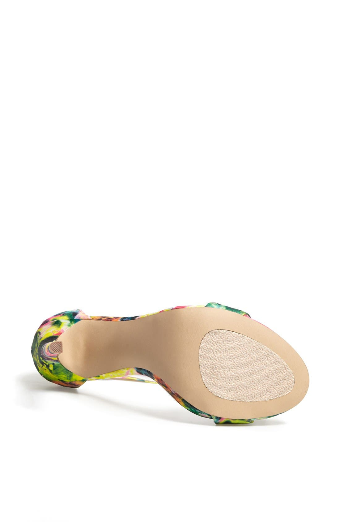 Alternate Image 4  - Steve Madden 'Marlenee' Floral Print Sandal