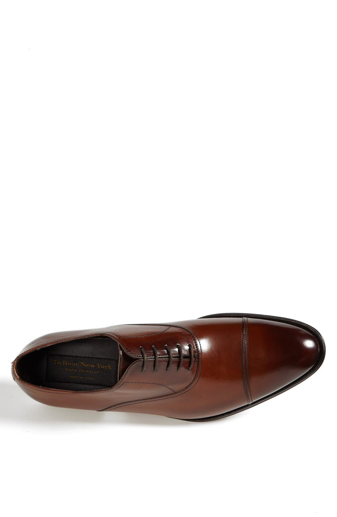Alternate Image 3  - To Boot New York Brandon Cap Toe Oxford (Nordstrom Exclusive) (Men)