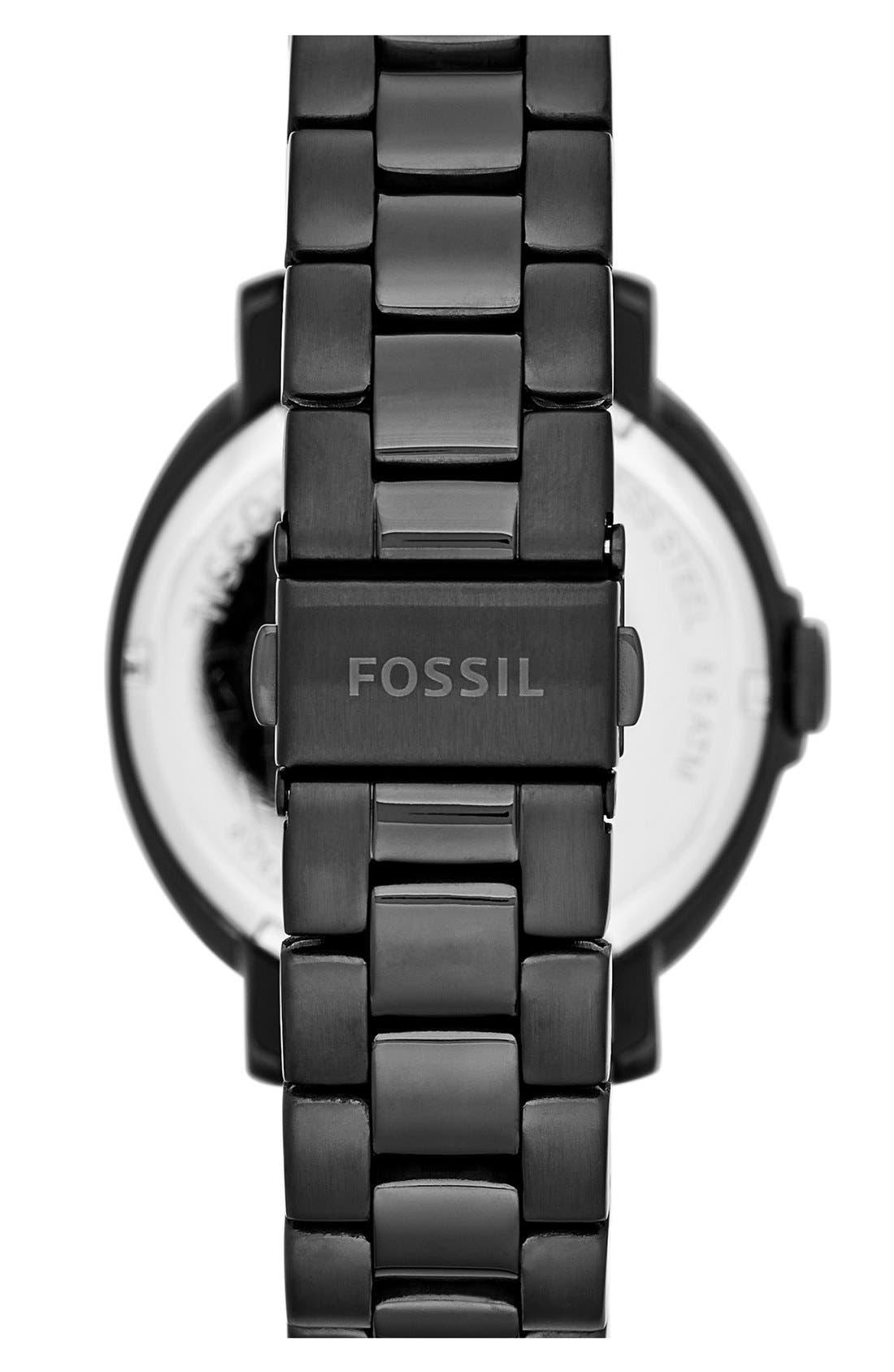 Alternate Image 2  - Fossil 'Chelsey' Multifunction Bracelet Watch, 39mm