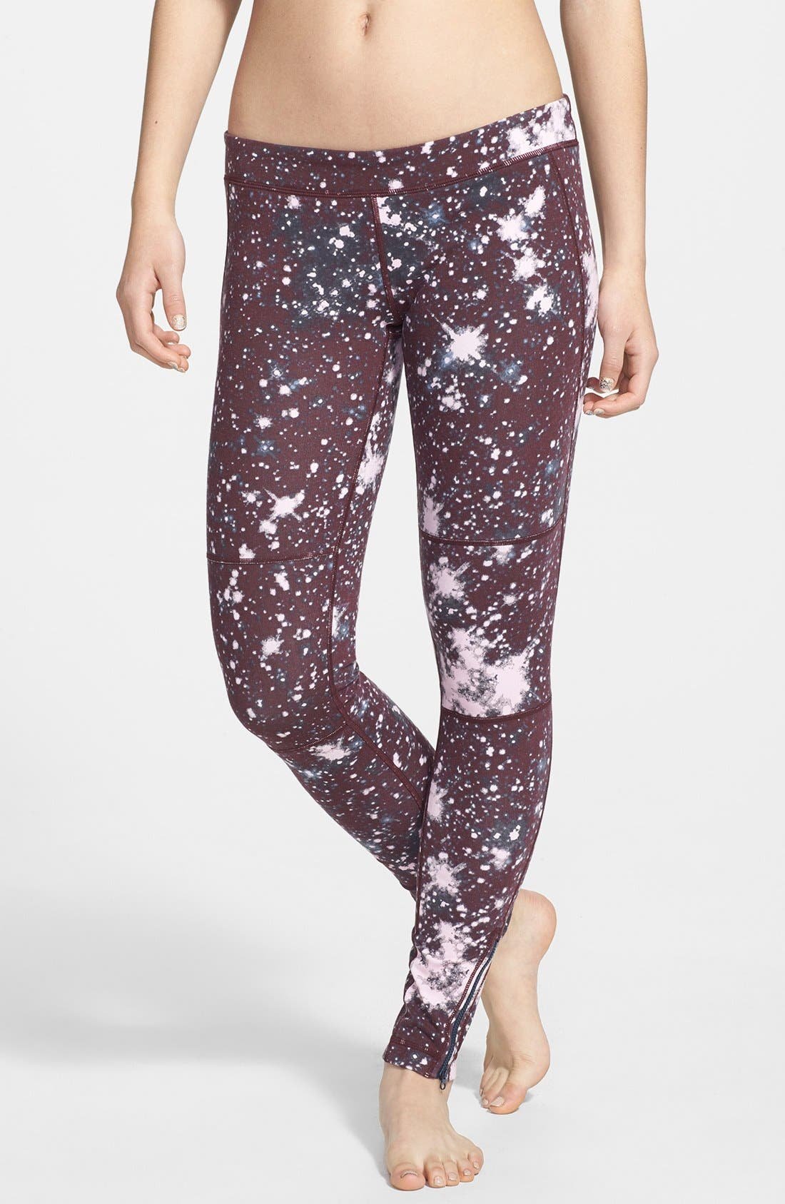 Alternate Image 1 Selected - Unit-Y 'Distance' Galaxy Print Leggings