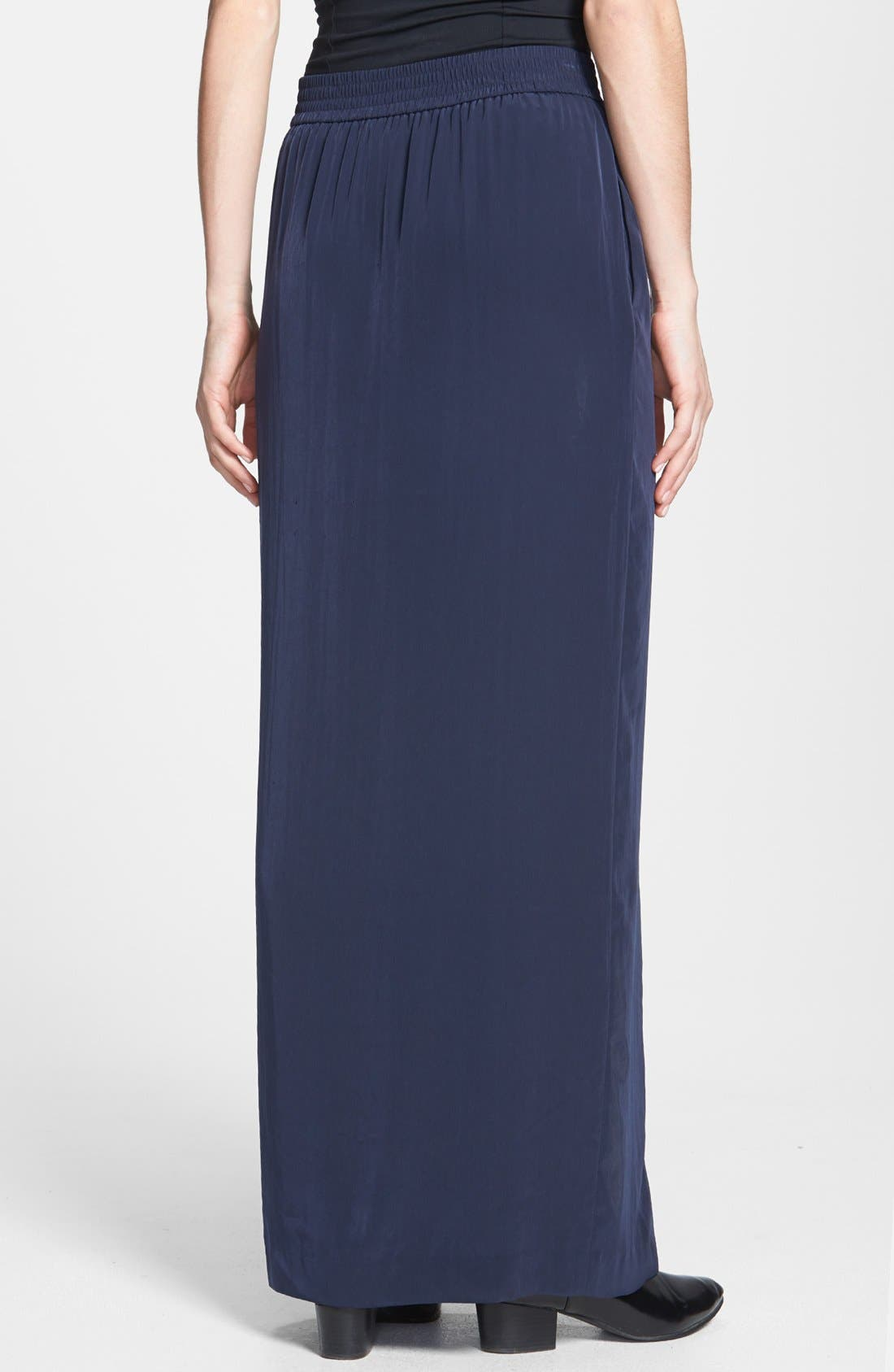 Alternate Image 2  - Tildon Side Slit Maxi Skirt