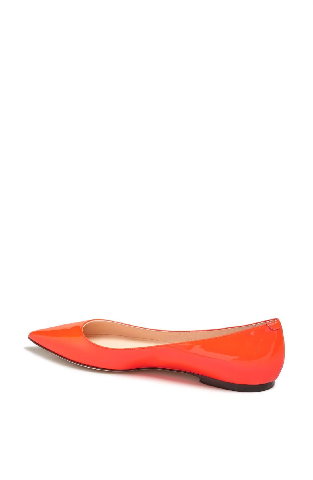 Alternate Image 2  - Jimmy Choo 'Alina' Pointy Toe Flat