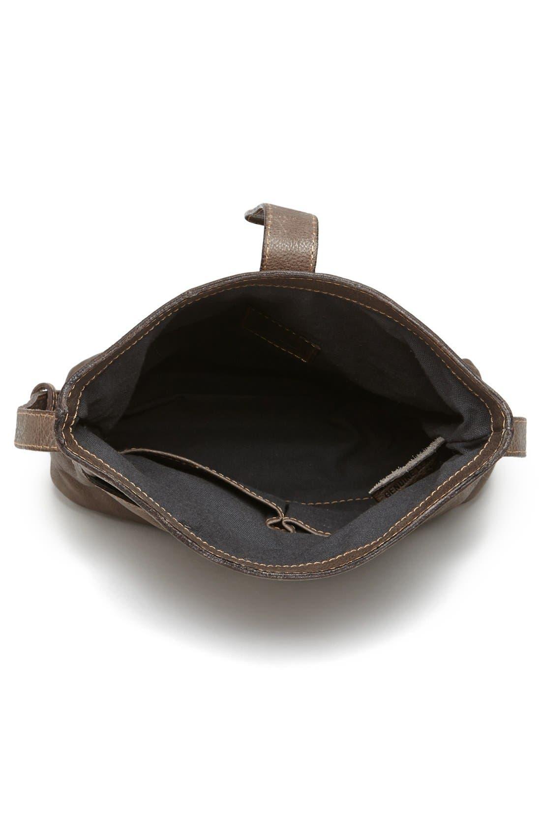 Alternate Image 3  - Frye 'Artisan Foldover' Leather Crossbody Bag
